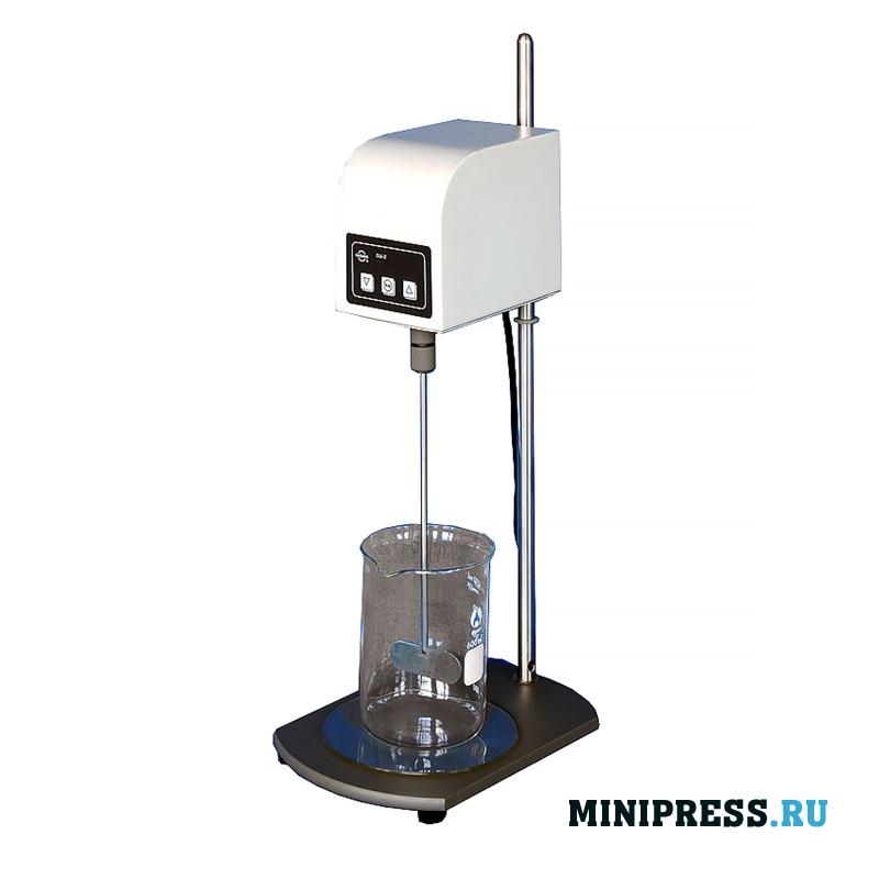Оборудование для размешивания порошков в жидкости для лаборатории