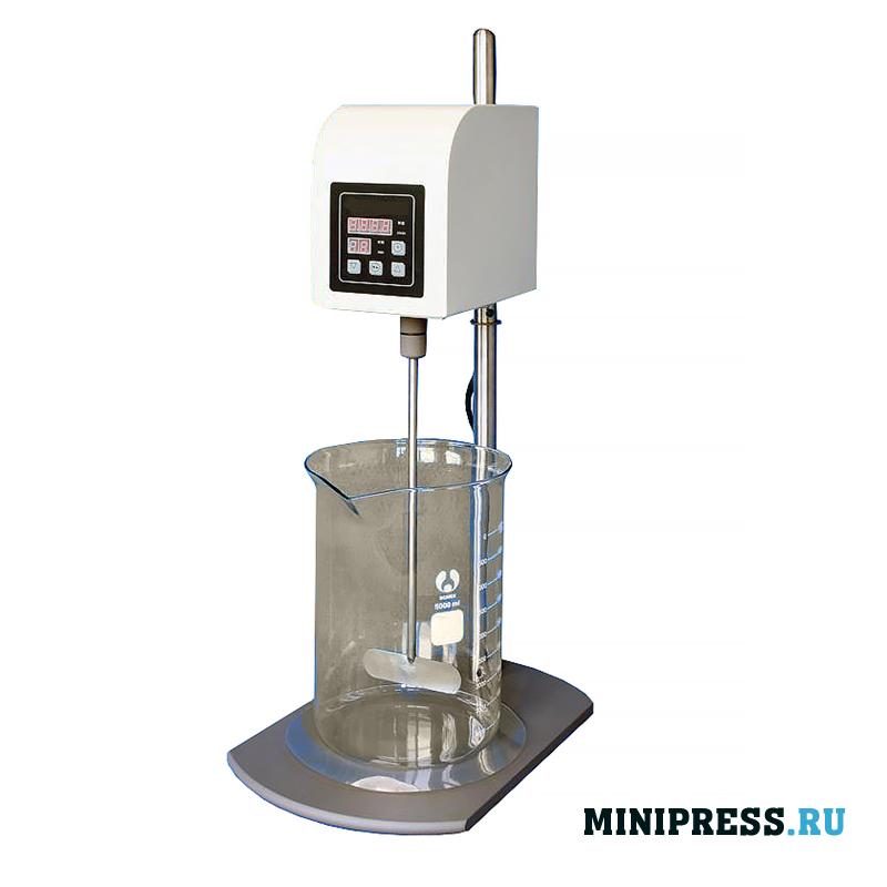 Моторный смеситель предназначен для перемешивания растворов и жидкостей