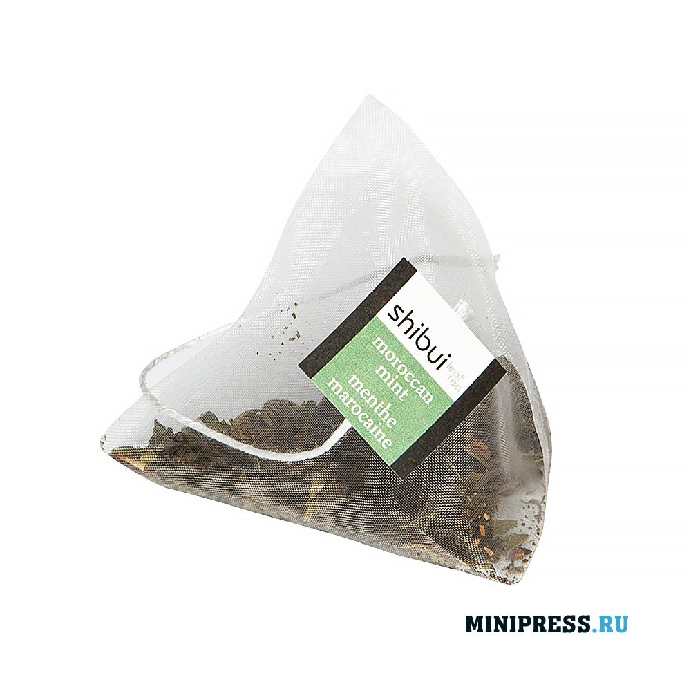 Оборудование для фасовки и упаковки чая в пирамидку и конверт