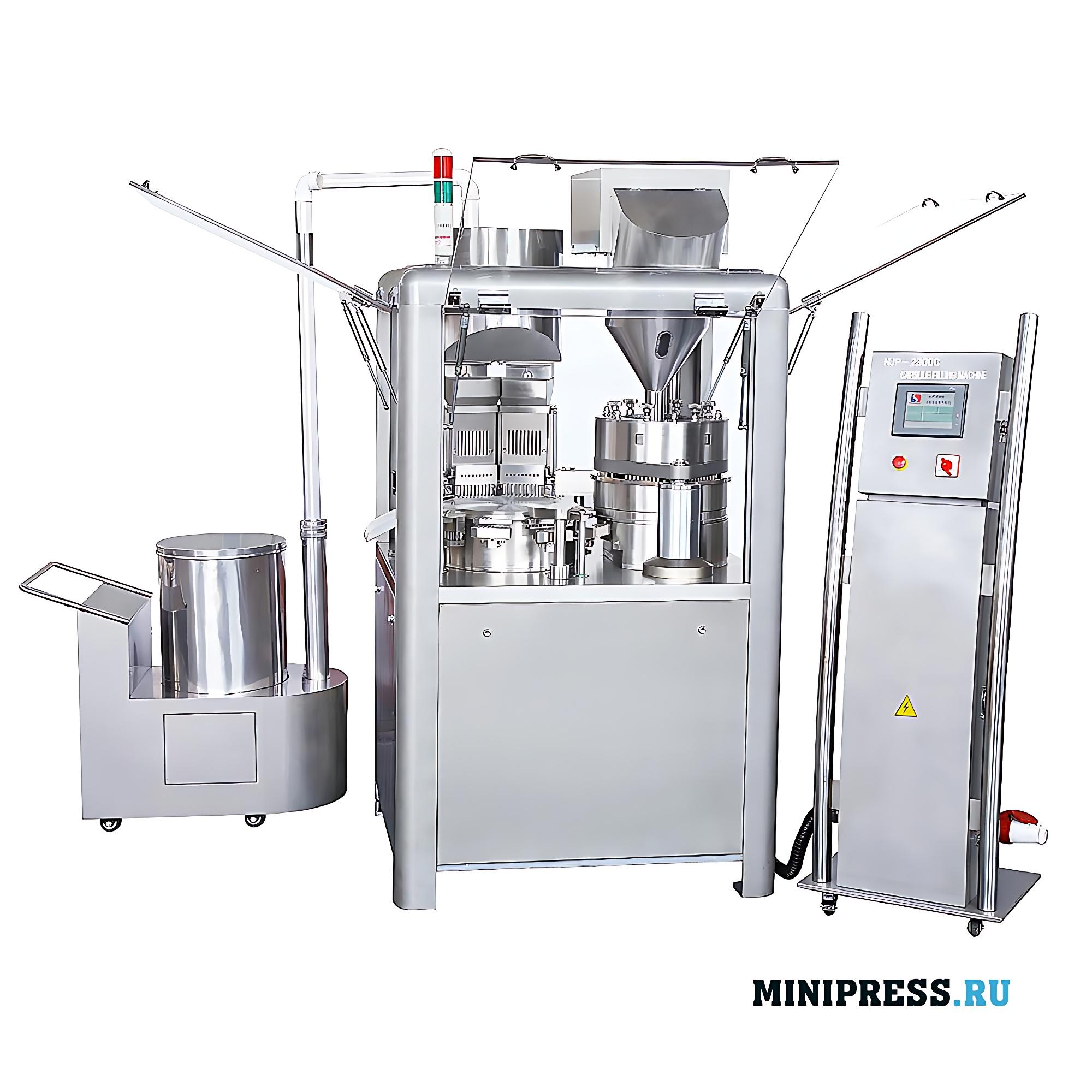 Оборудование для фасовки порошков и гранул в твердые желатиновые капсулы