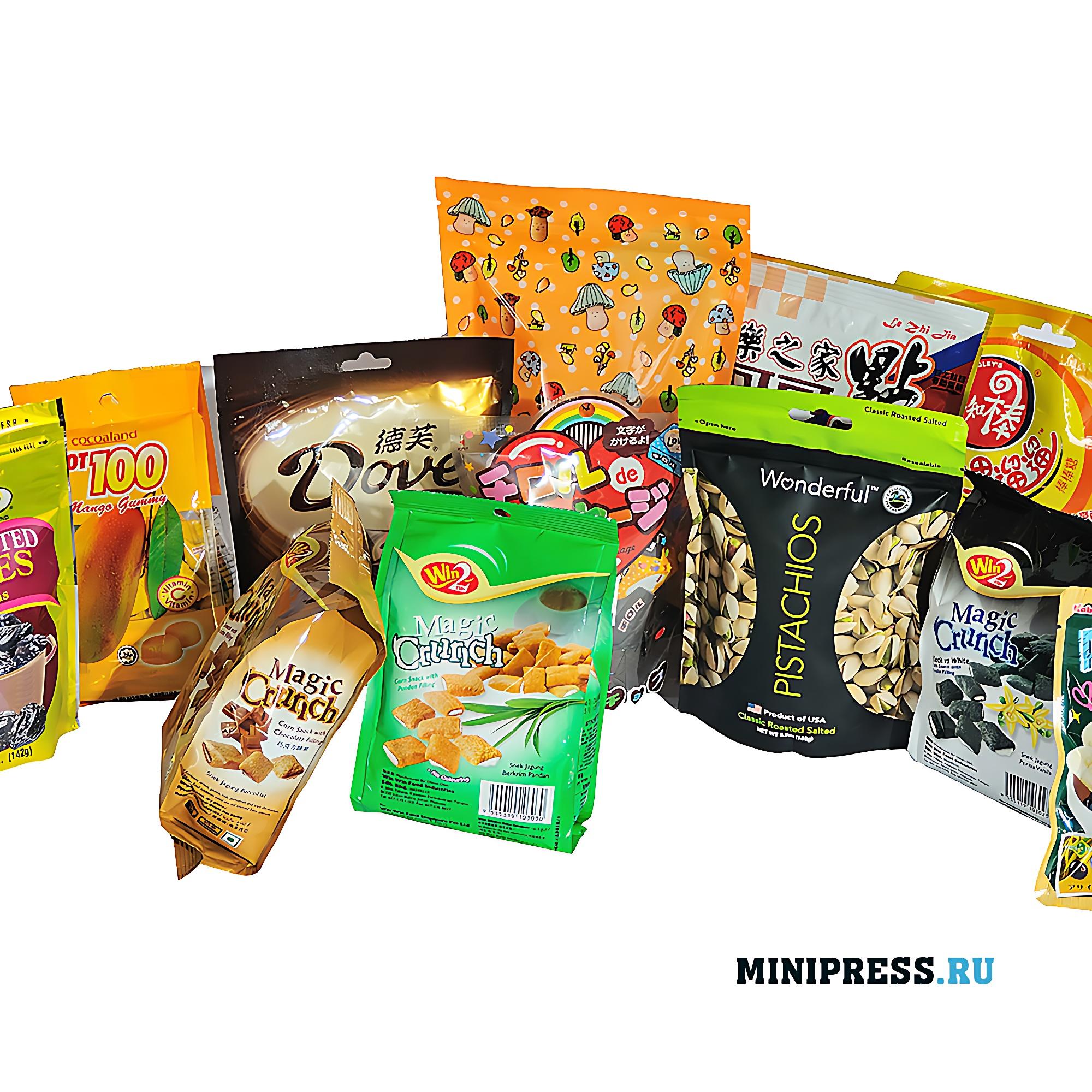 Оборудование для фасовки и упаковки в дой-пак пакеты любых продуктов
