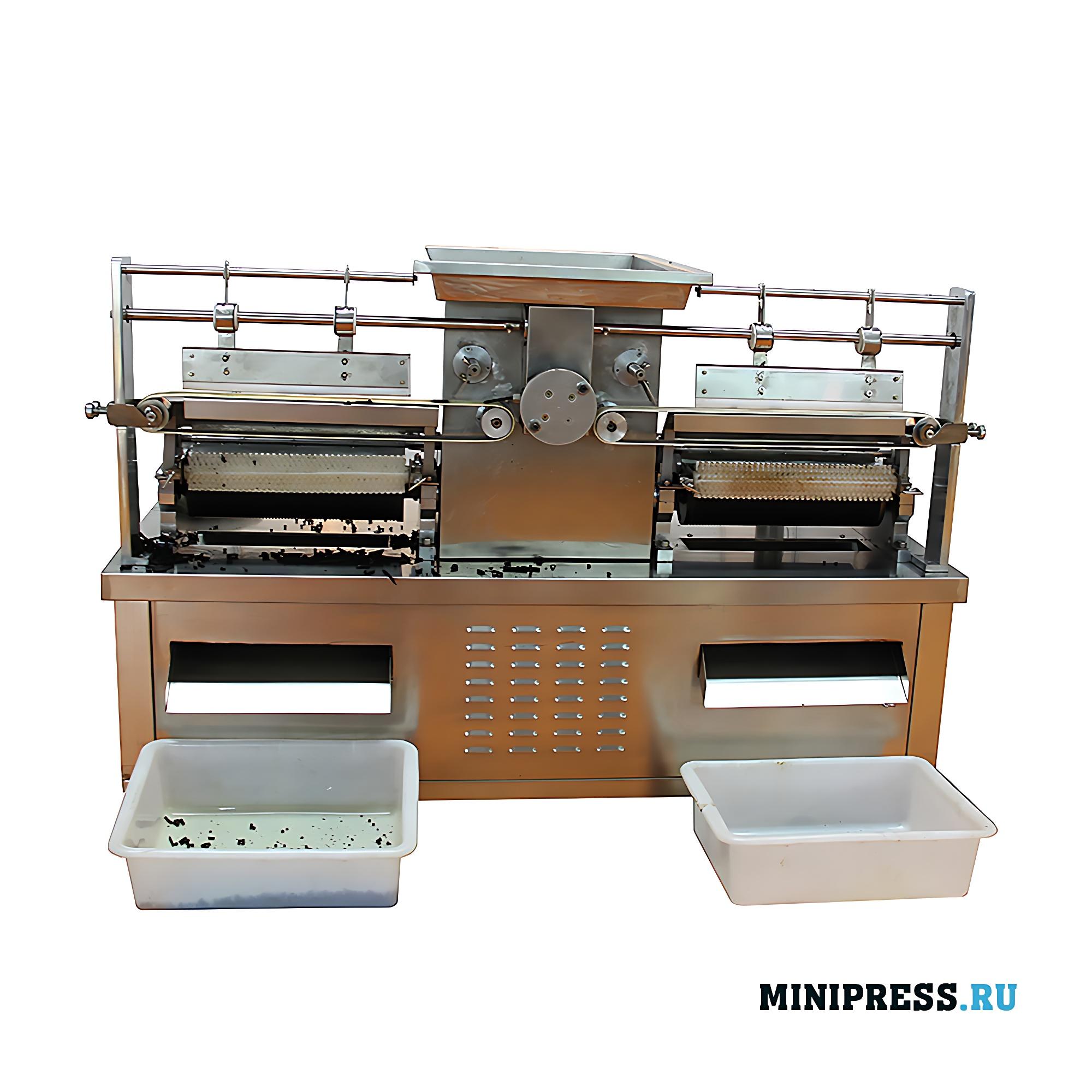Автоматическая машина для получения шариков (гранул, драже, бойлов) из пластичных масс