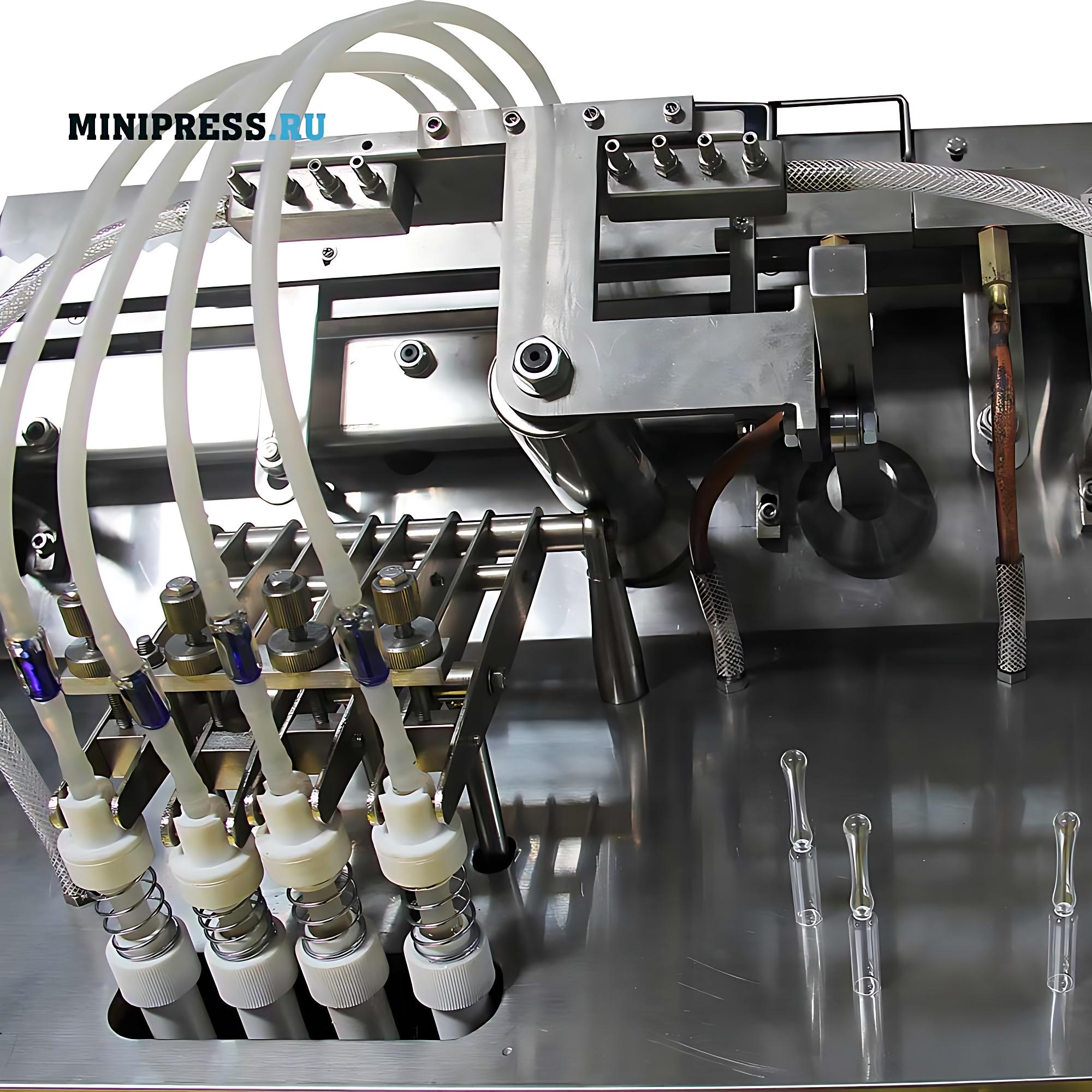 Оборудование для розлива и запайки стеклянных ампул