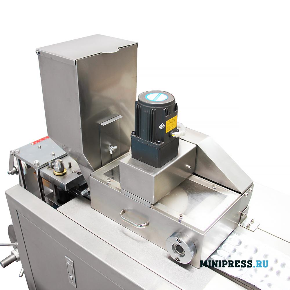 Оборудование для упаковки таблеток и желатиновых капсул в алюминиевые блистеры