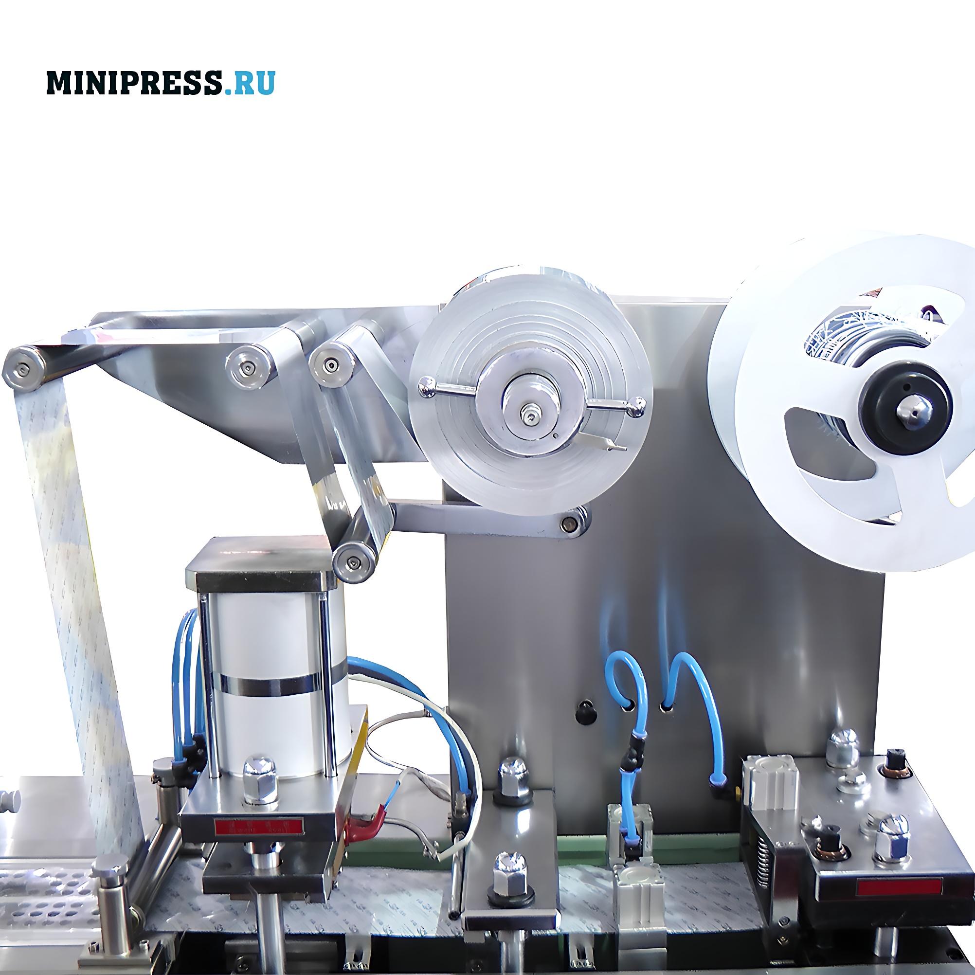 Автоматическая машина для блистерной упаковки таблеток и капсул