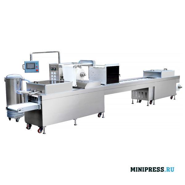 Автоматическая блистерная машина плоского типа широко применяется для инжекторов, шприцев, игл