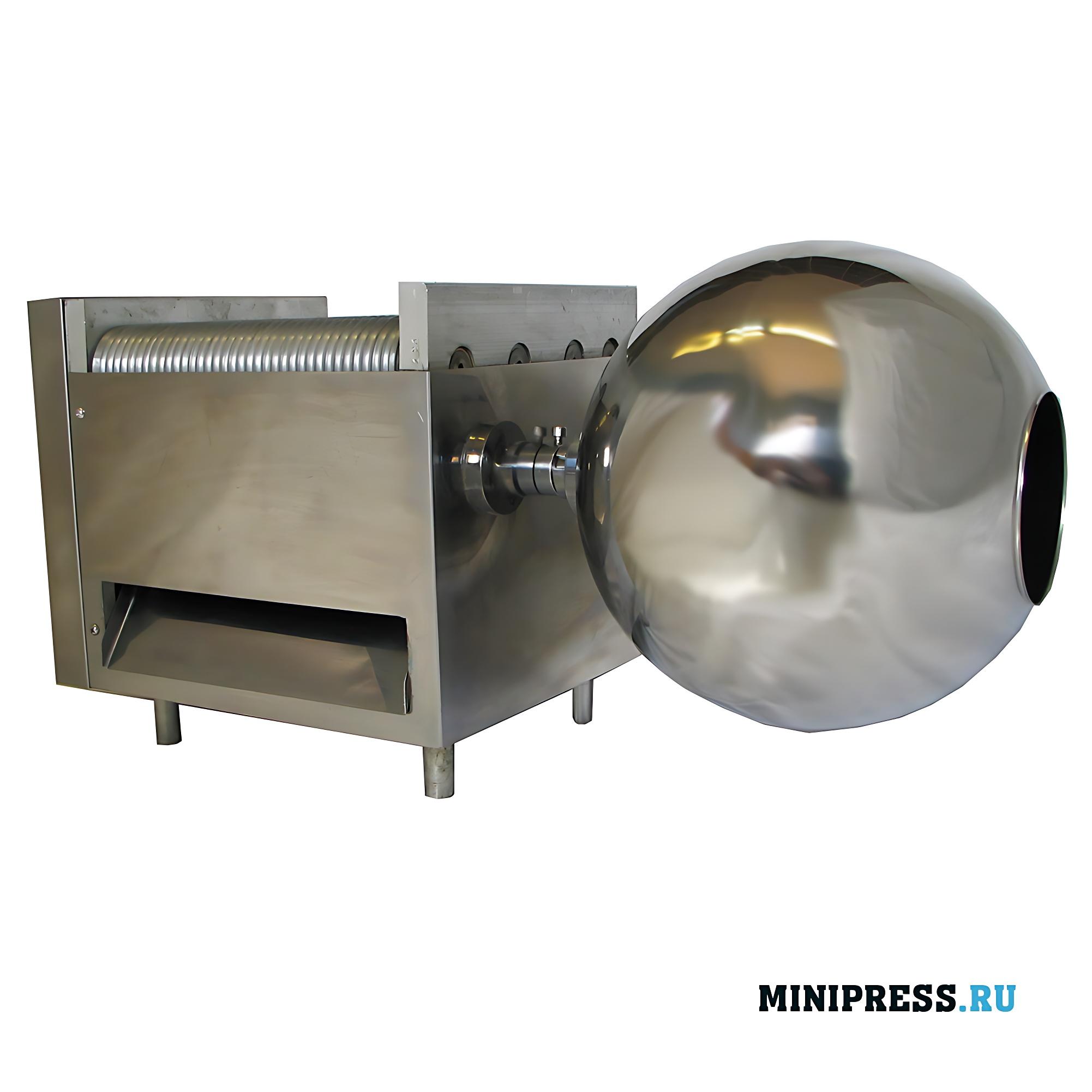 Оборудование для производство драже и бойлов диаметром до 12 мм