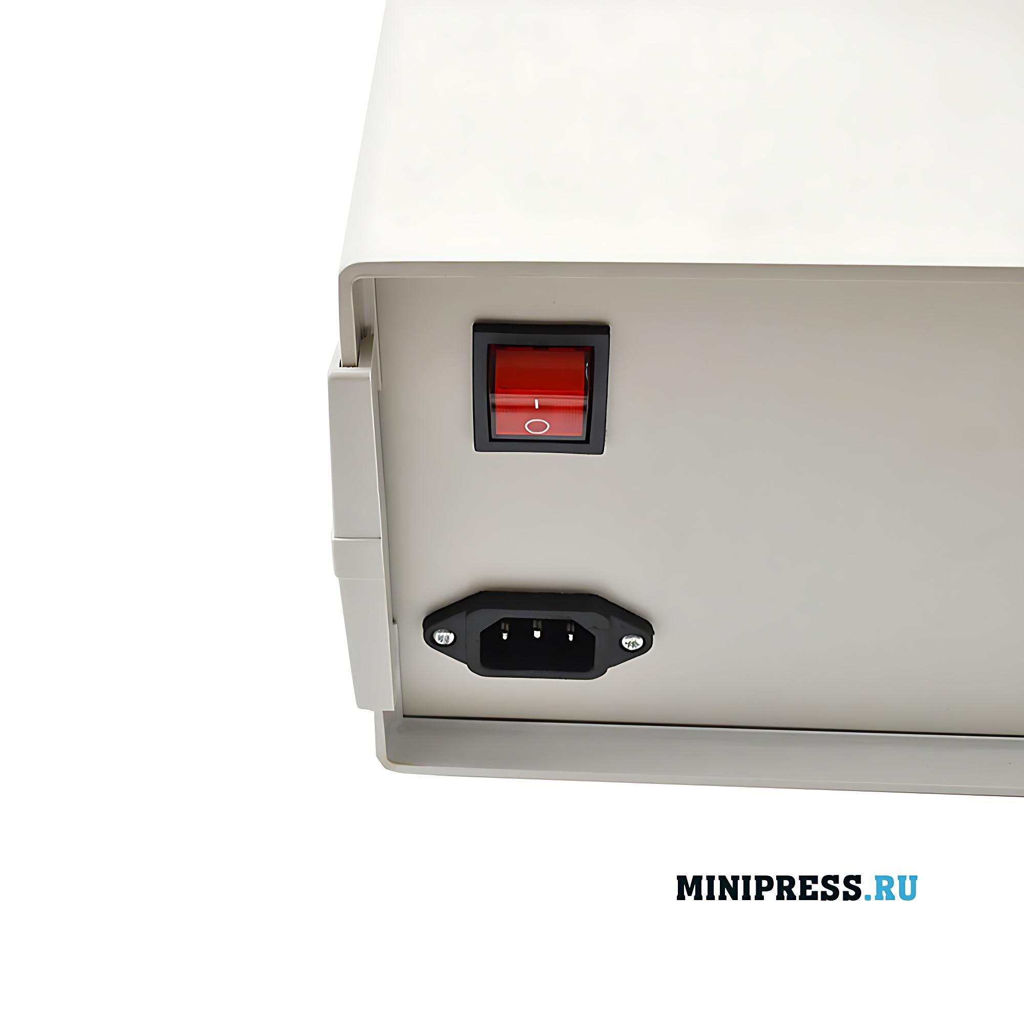 Настольное оборудование для приварки мембраны к горловине пластиковой бутылки