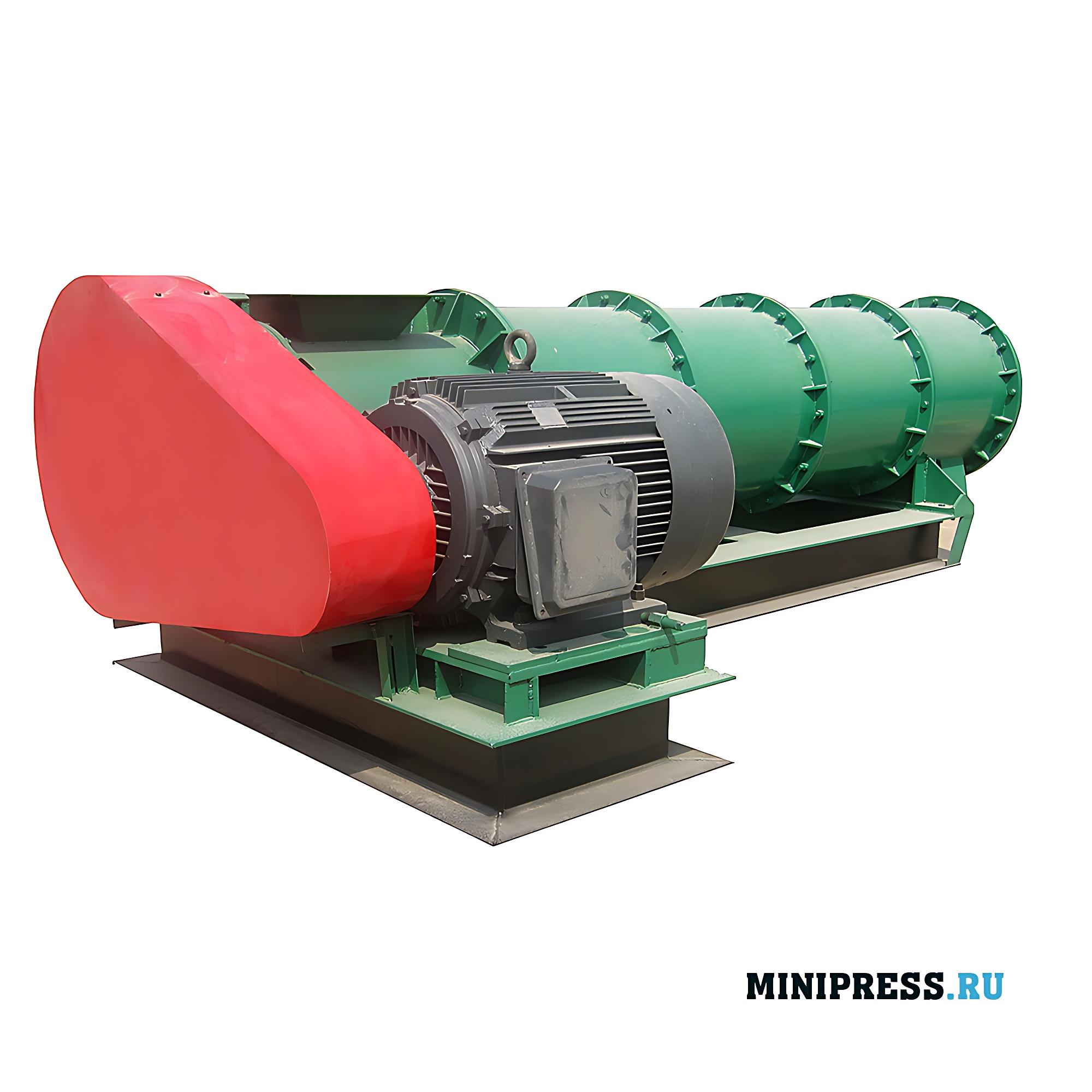 Горизонтальный центробежный гранулятор с новой концепцией