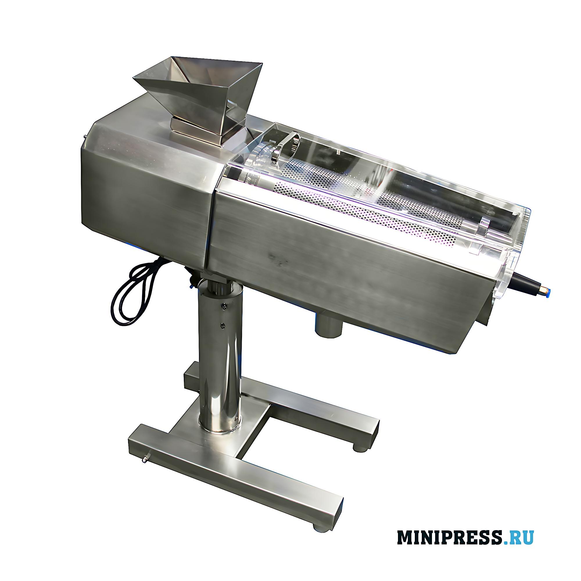 Автоматическое оборудование для удаления пыли с таблеток