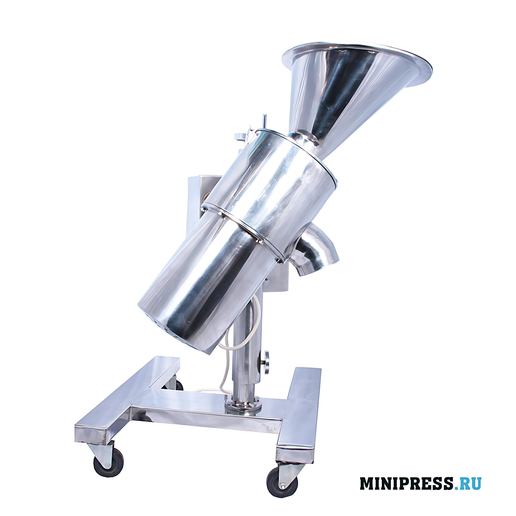 Автоматический гранулятор центробежного типа гранулирования порошков