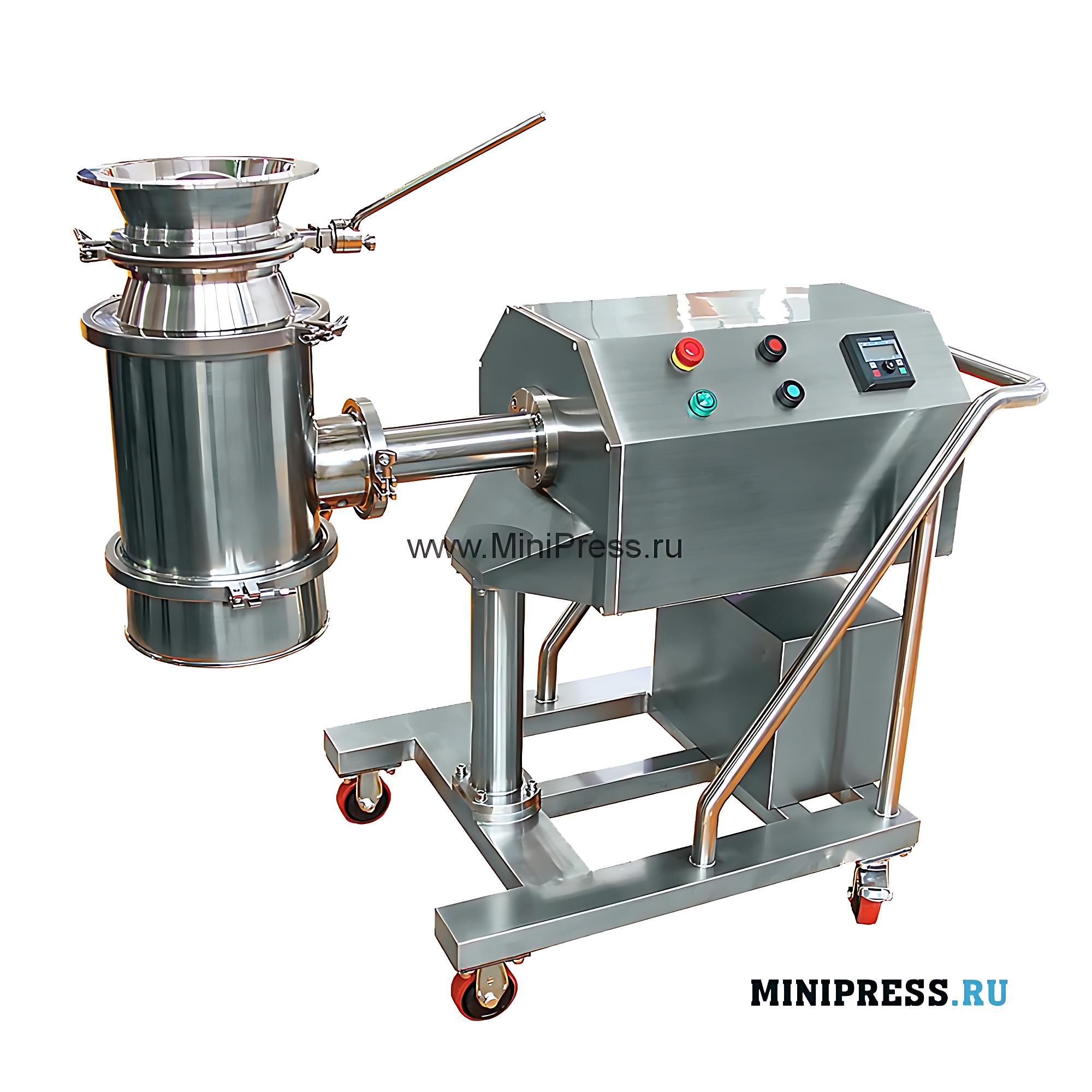 Промышленный гранулятор для влажного гранулирования порошков