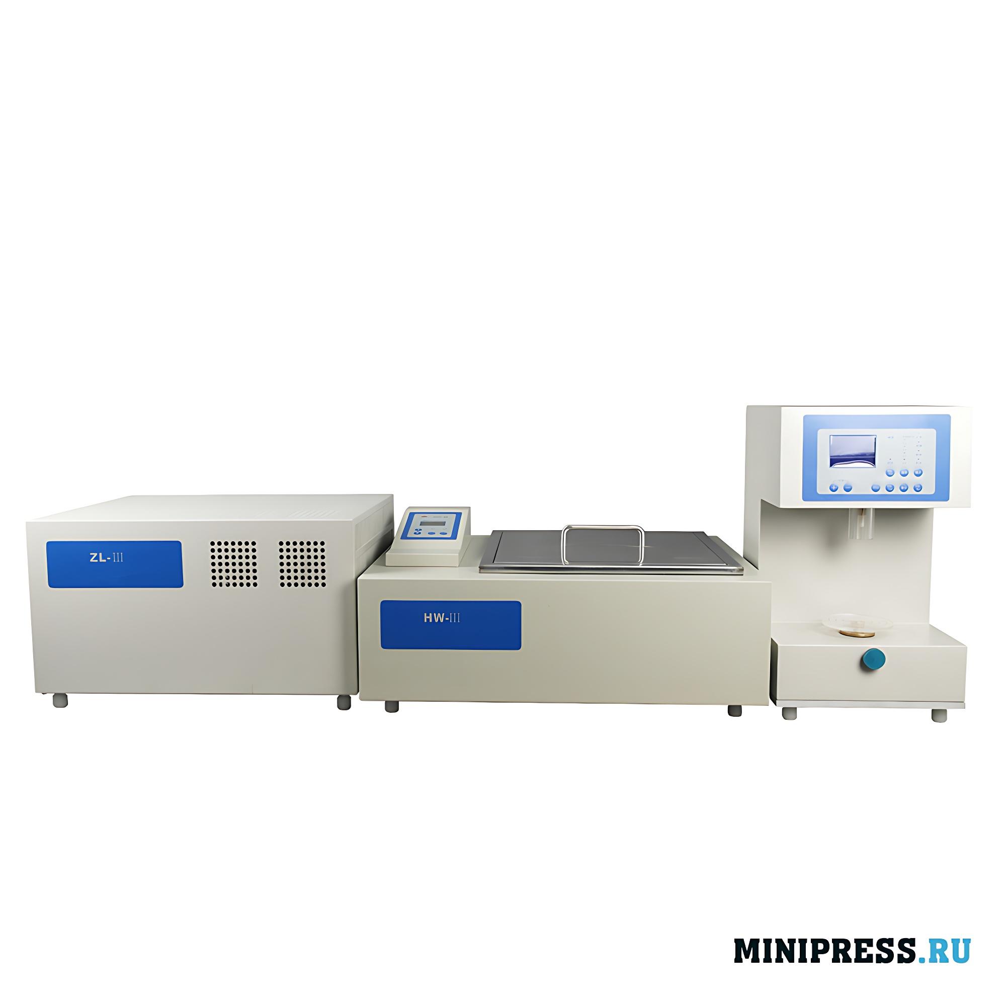 Лабораторная система для испытания прочности желатинового геля