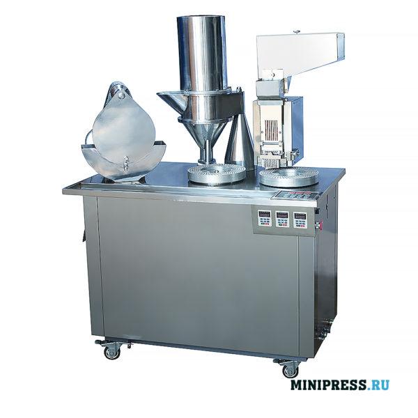 Оборудование для капсулирования порошка в твердые желатиновые капсулы