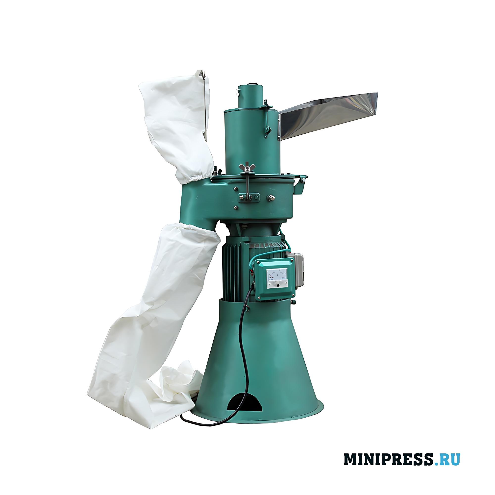 Оборудование для измельчения сырья в порошок в мельницах и измельчителях