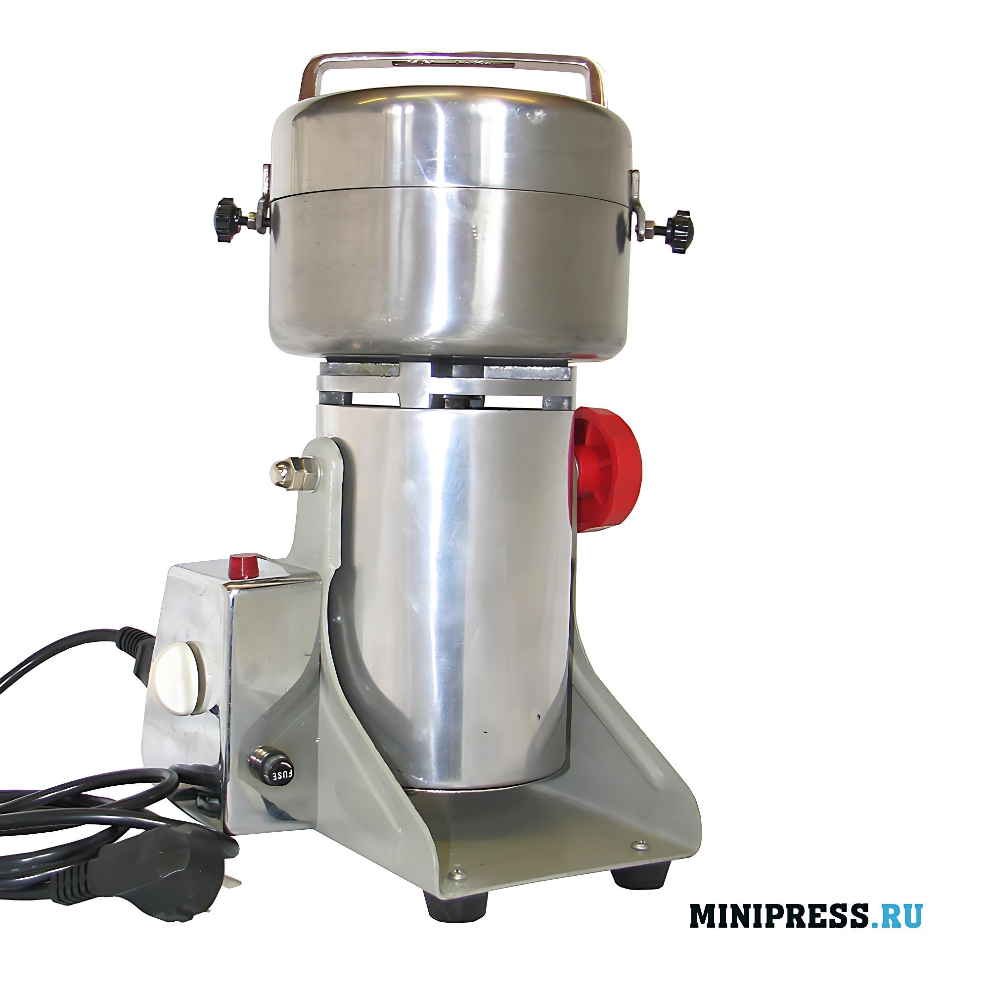 Автоматическая лабораторная мельница ножевого типа с загрузкой сырья