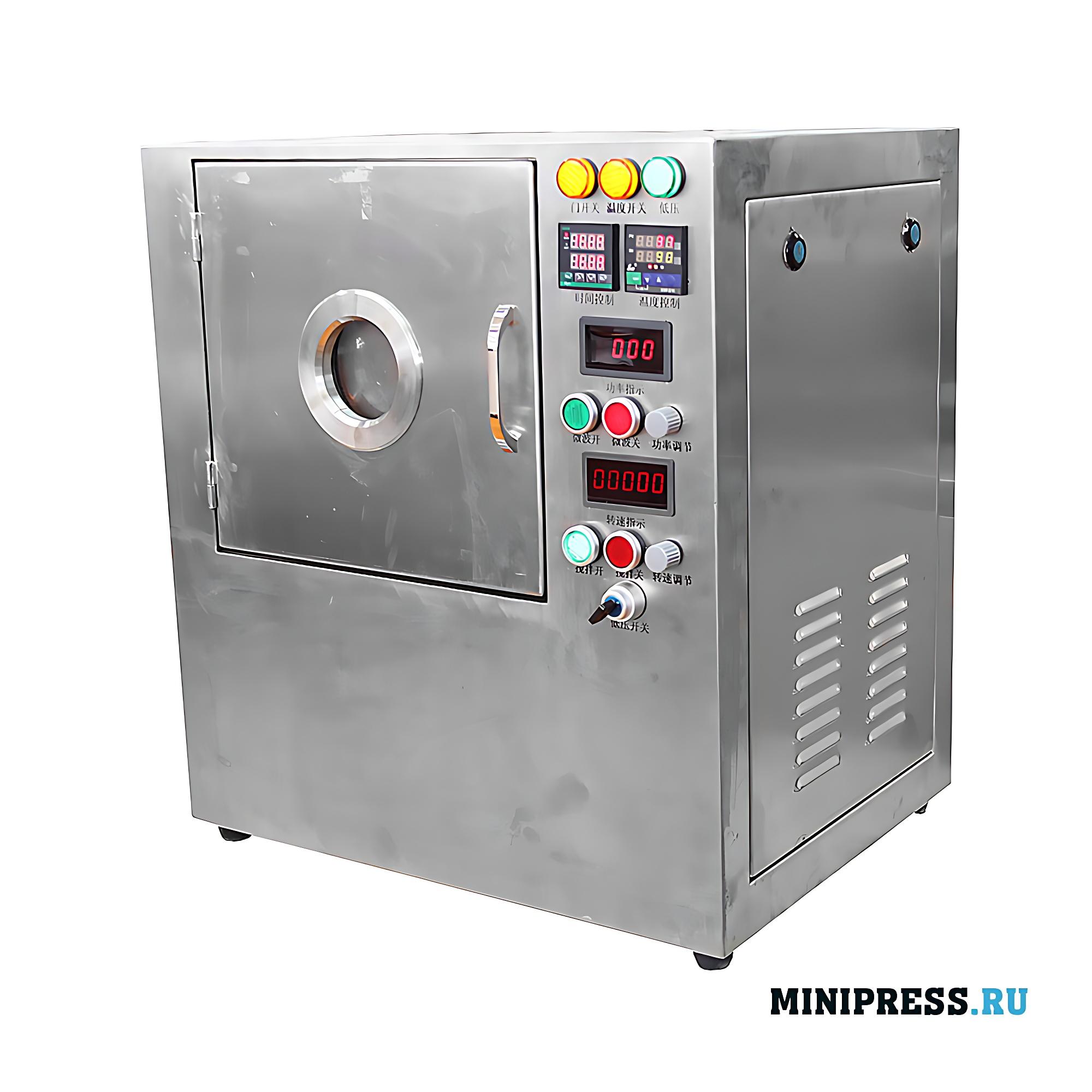 Машина для микроволнового нагрева жидкости с встроенной магнитным миксером