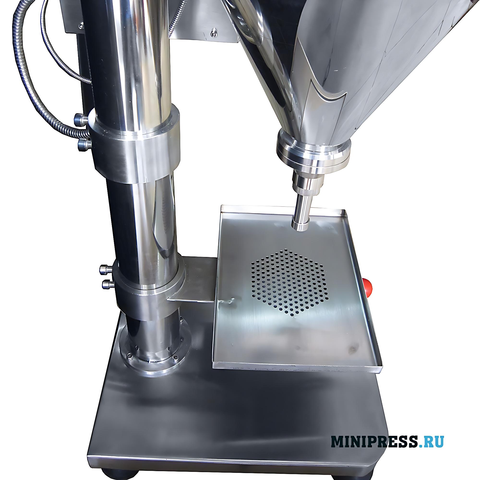 Полуавтоматическая дозирующая машина для фасовки порошков