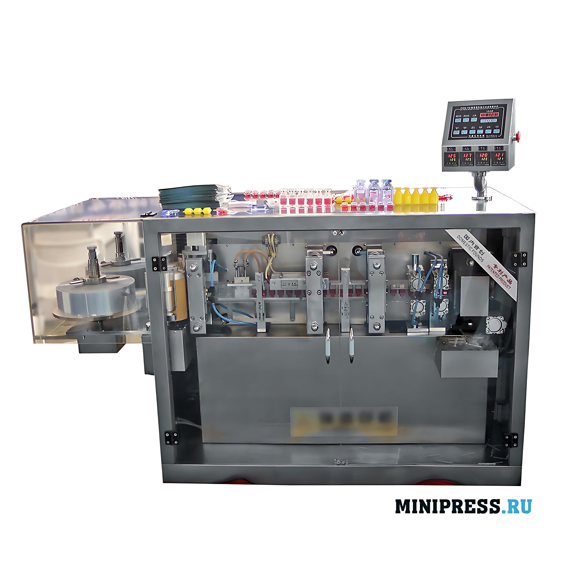 Оборудование для розлива лекарственных и пищевых продуктов в ампул
