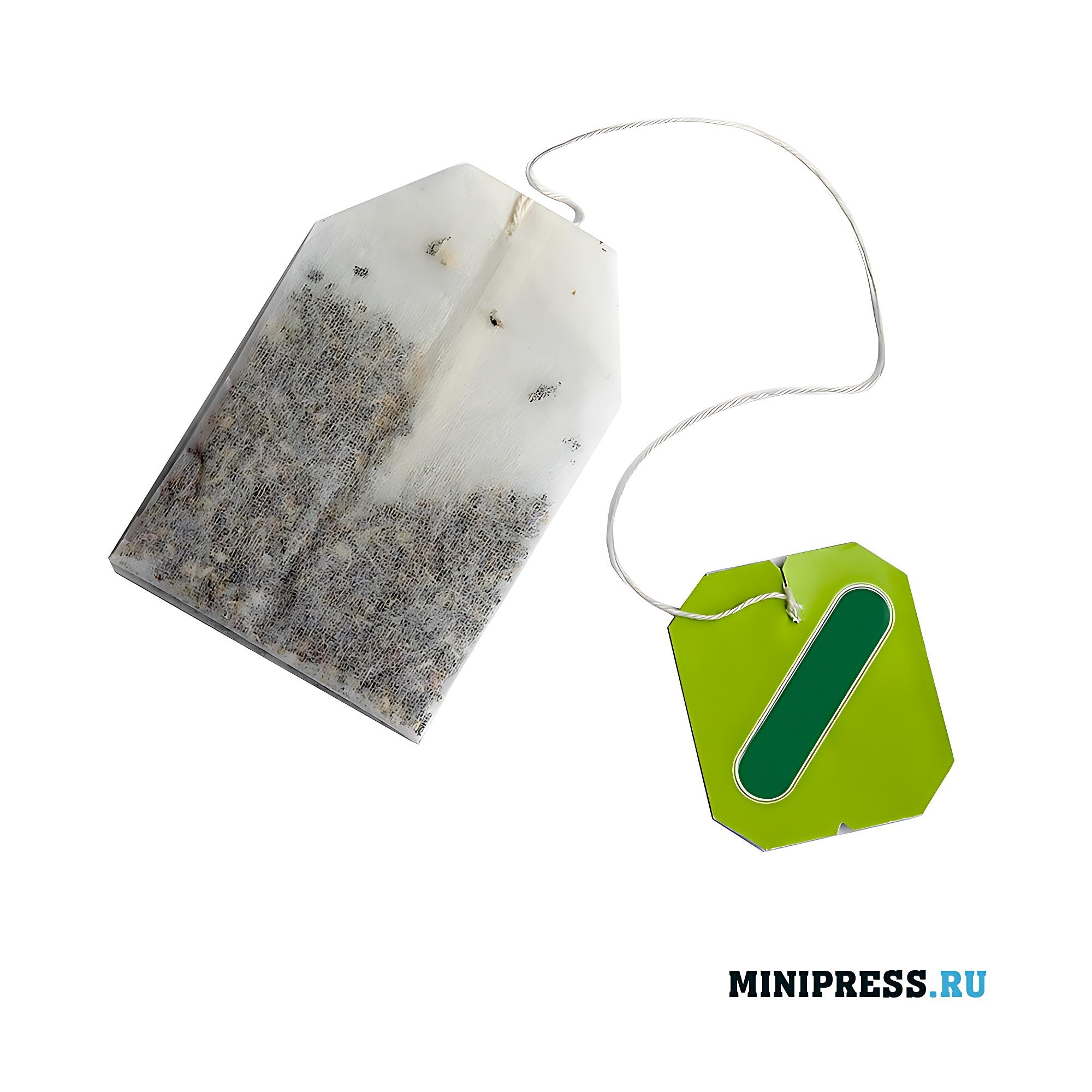 Оборудование для фасовки и упаковки чайного пакетика в конверт