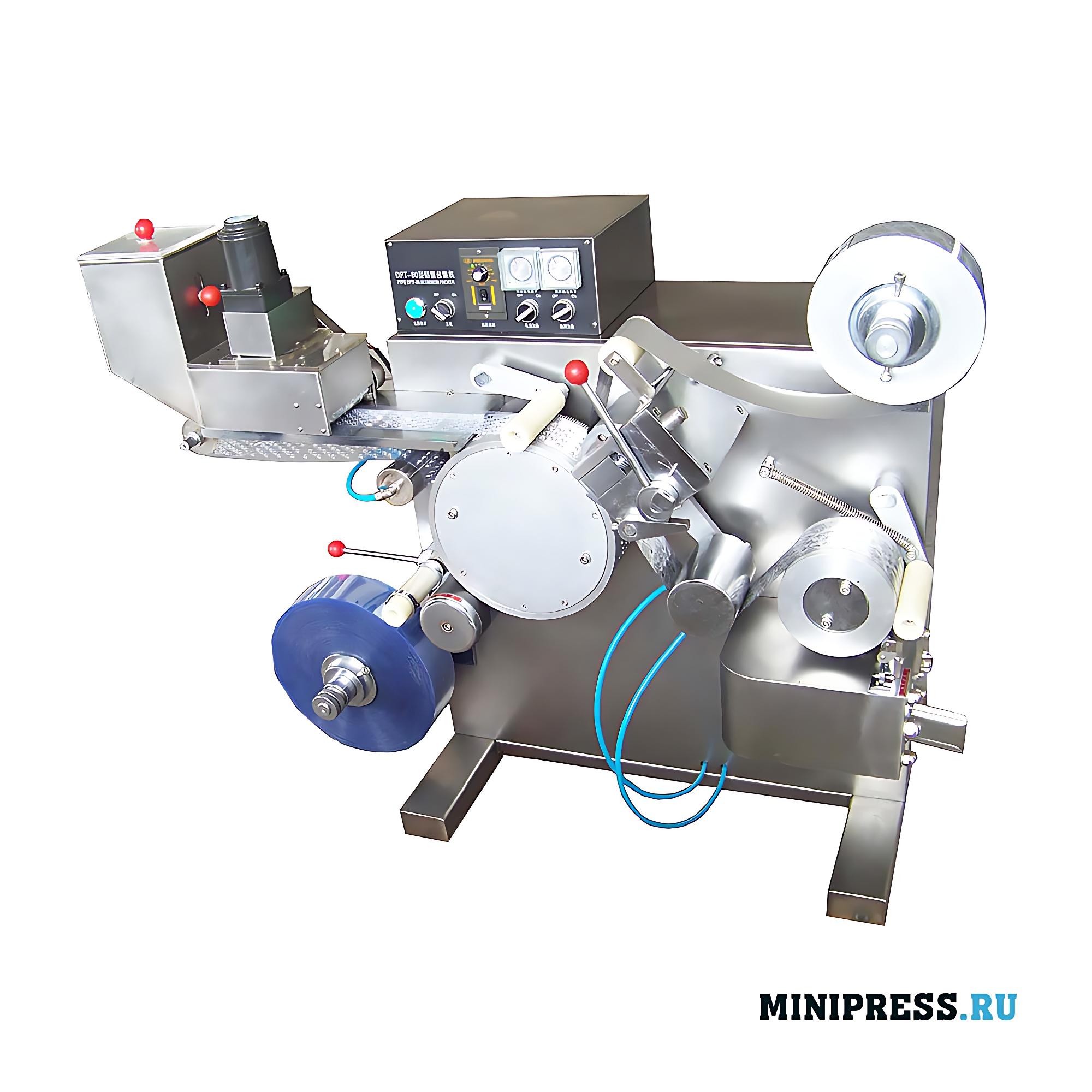 Оборудование для автоматической упаковки таблеток и желатиновых капсул в блистеры