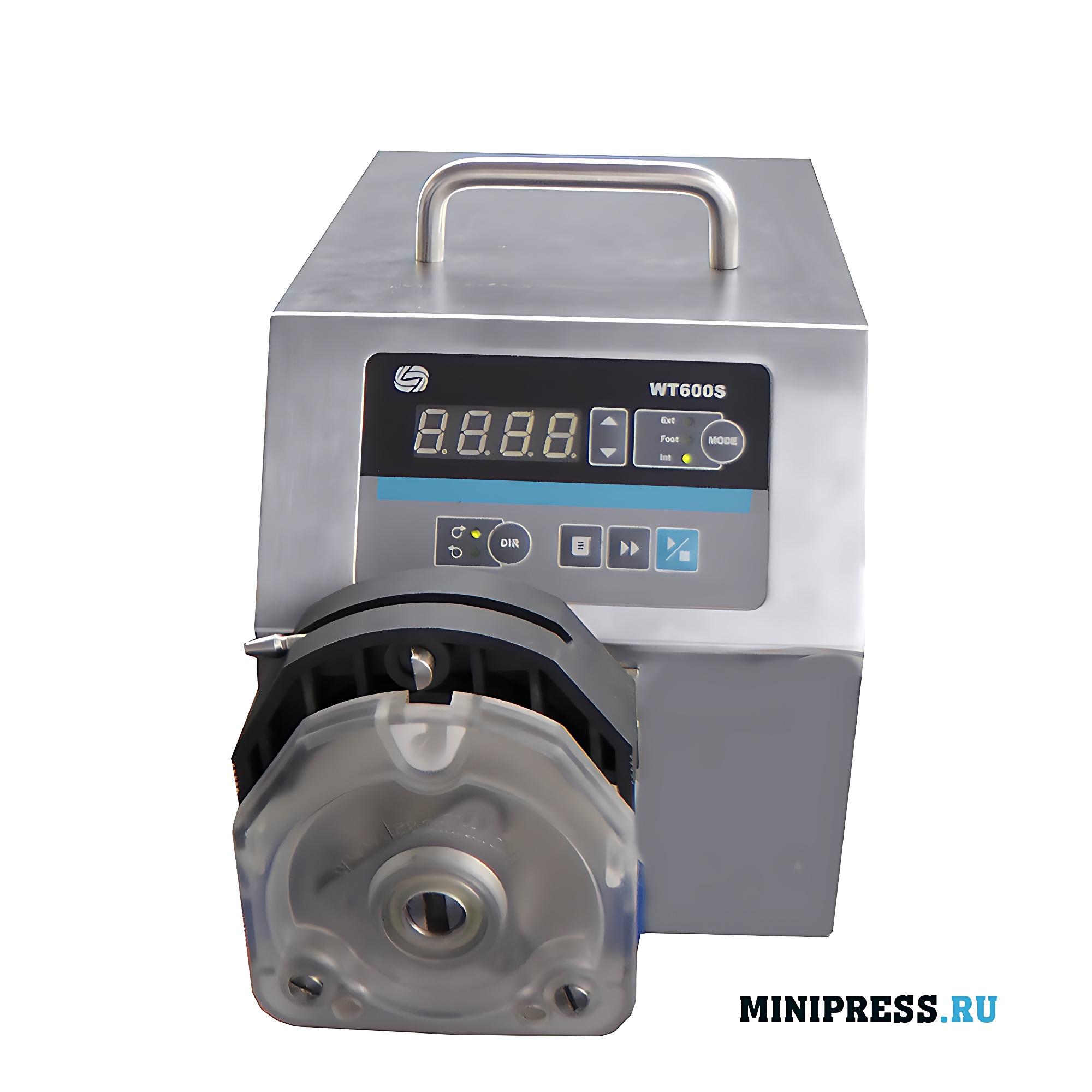 Производство и продажа перистальтических насосов; контроль точности розлива жидкостей
