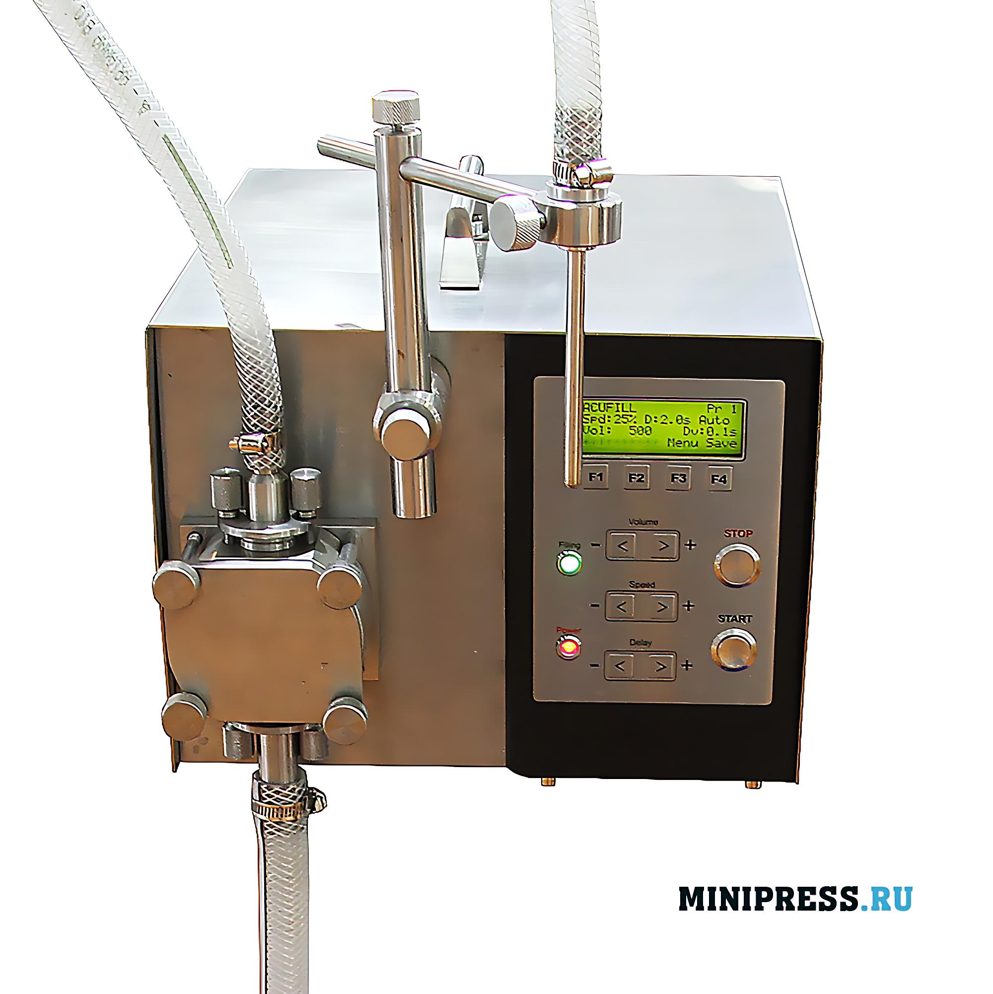 Программируемый шестеренчатый насос для дозировки жидких материалов