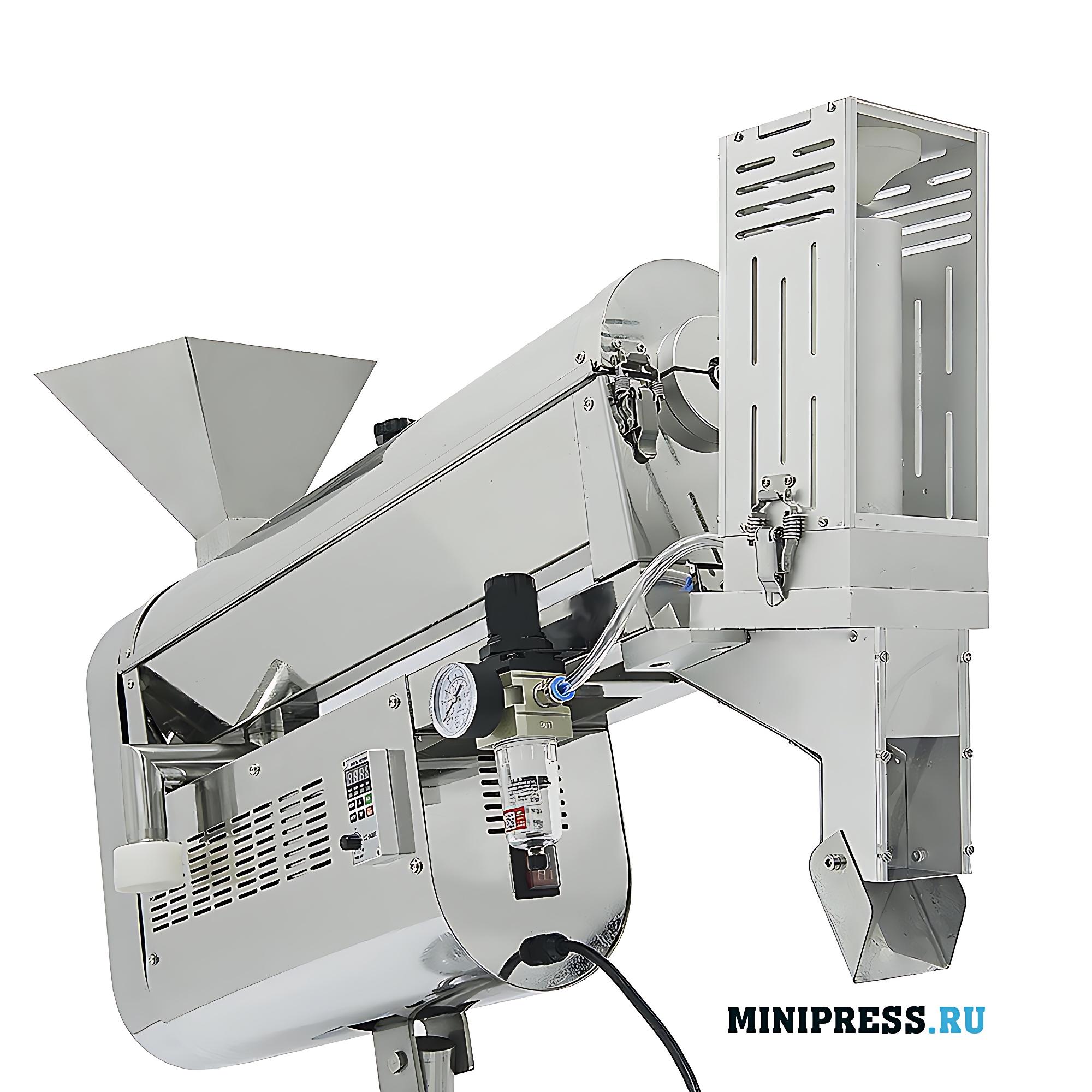 Оборудование для полировки и удаления пыли с твердых желатиновых капсул