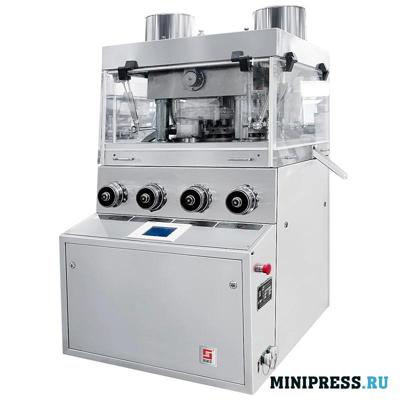 Пресс для автоматического производства таблеток из порошка