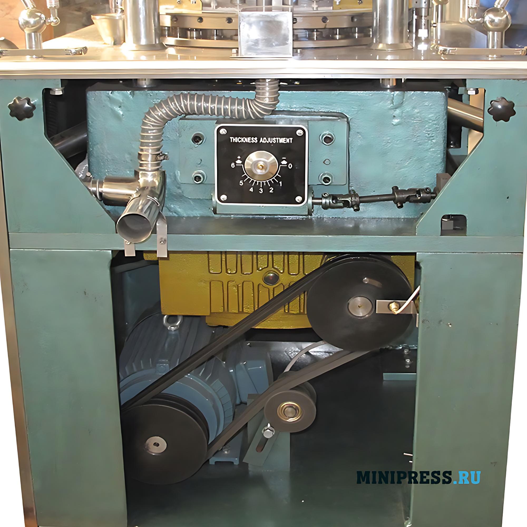 Роторный таблеточный пресс RZW-29 для прессования порошков