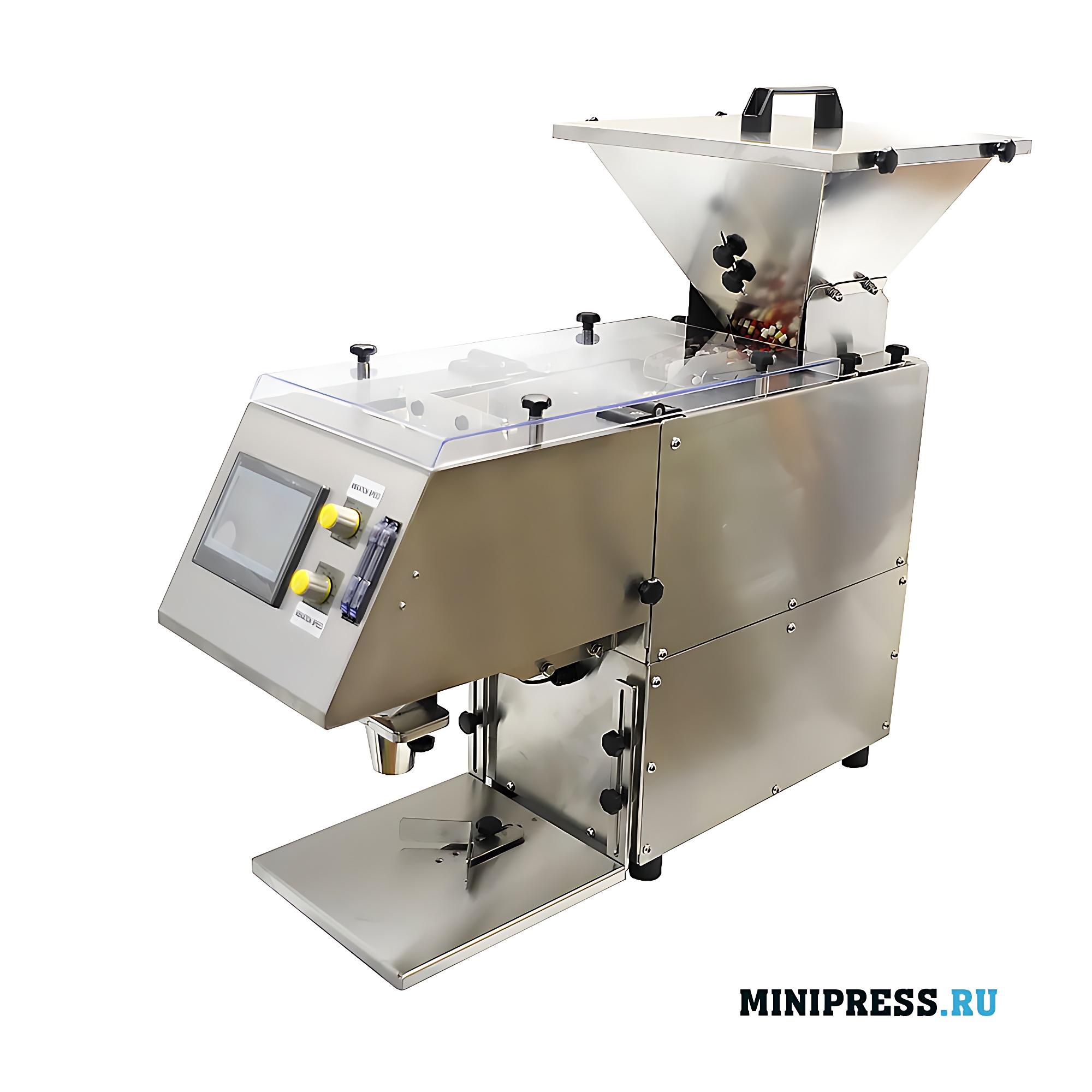 Автоматическая машина для подсчета и фасовки желатиновых капсул и таблеток
