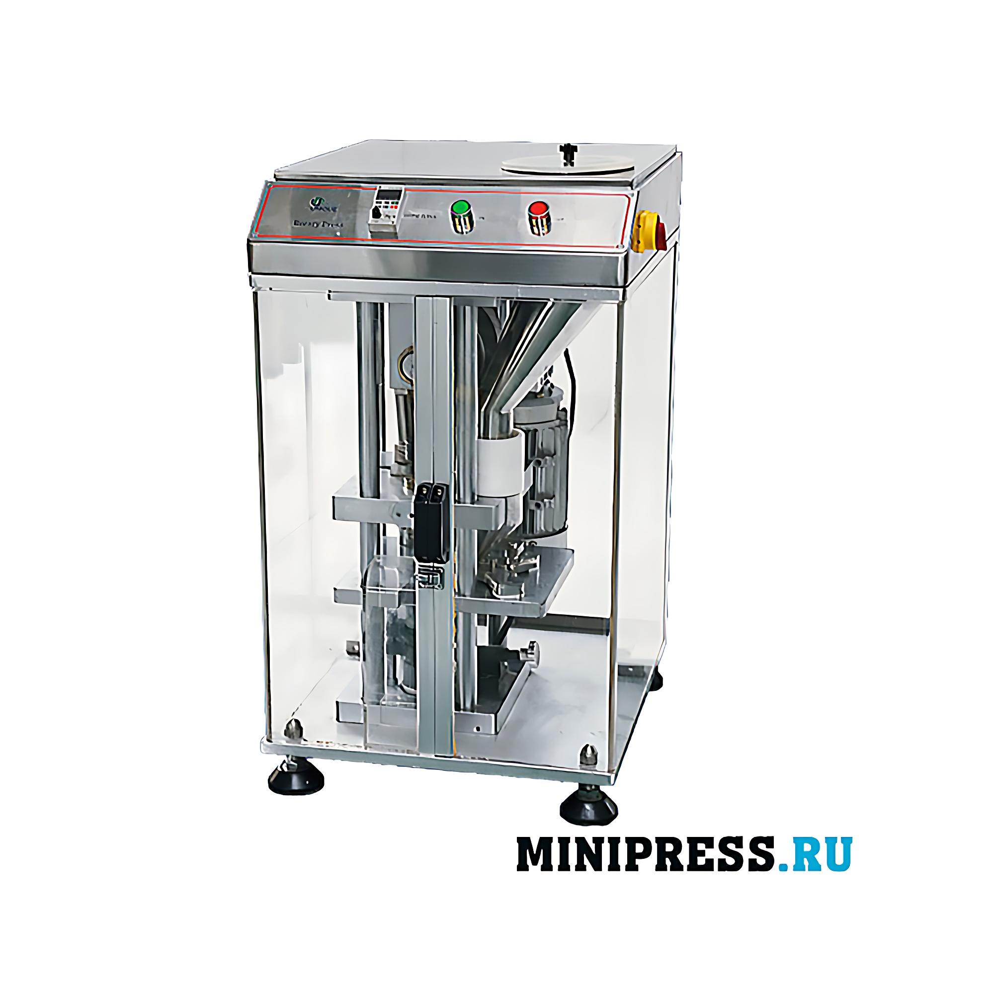 Оборудование для прессования таблетки максимального диаметра 30 мм