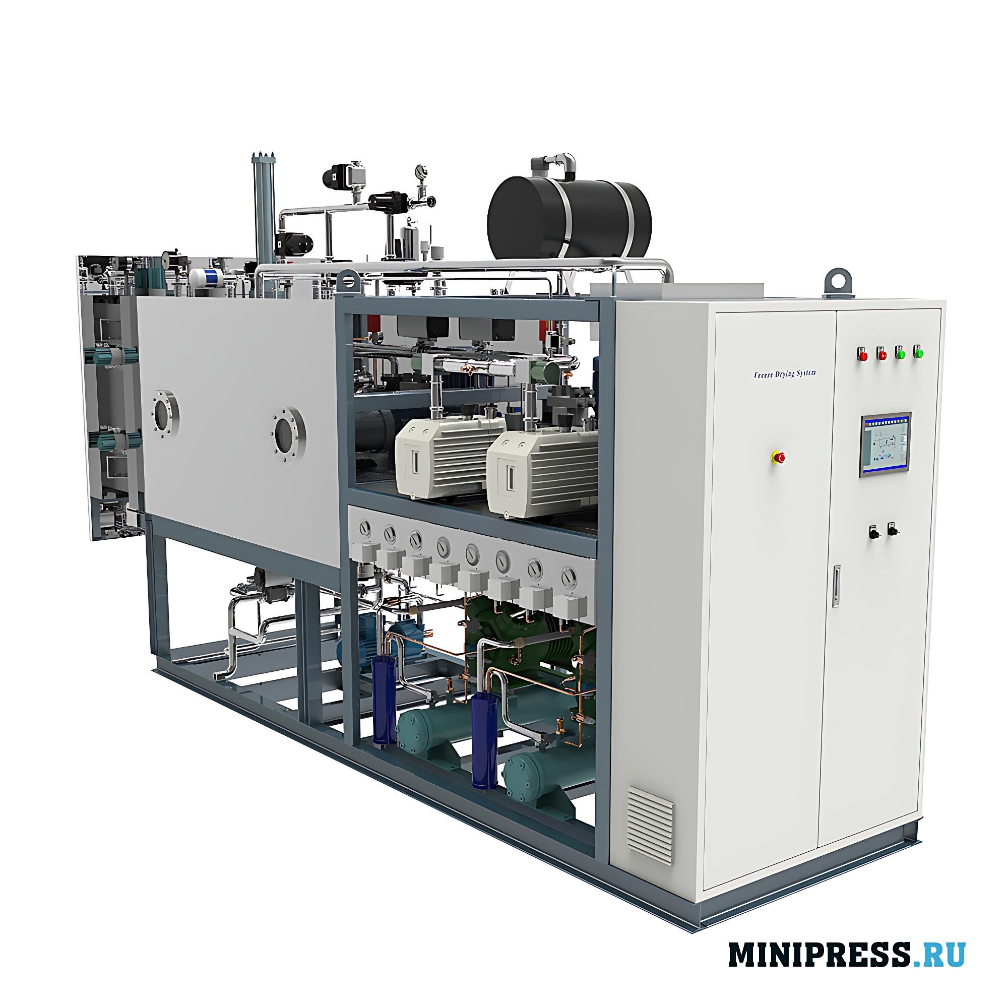 Оборудование для сушки фармацевтических и биологических продуктов