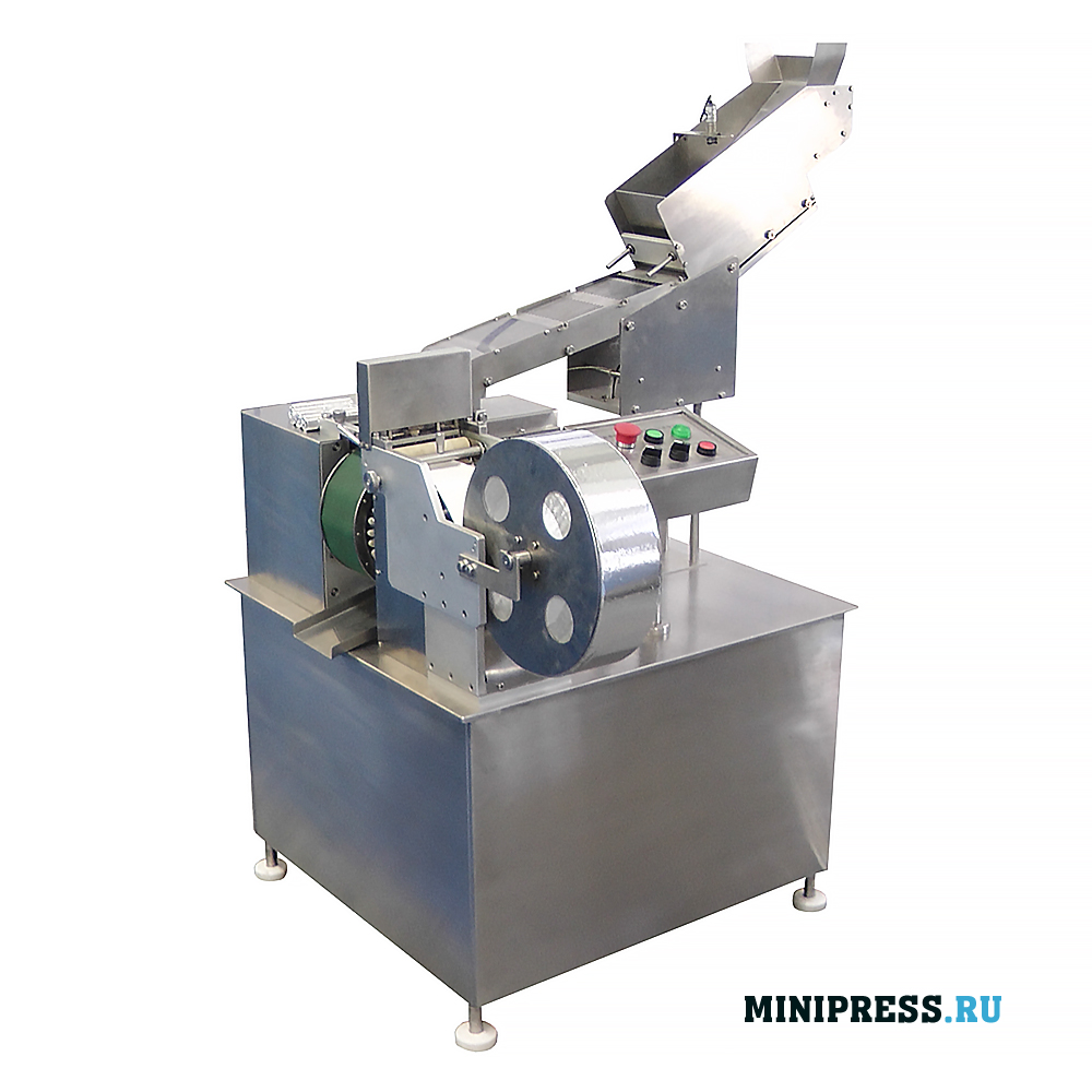 Машина для групповой упаковки таблеток диаметром 20-25 мм