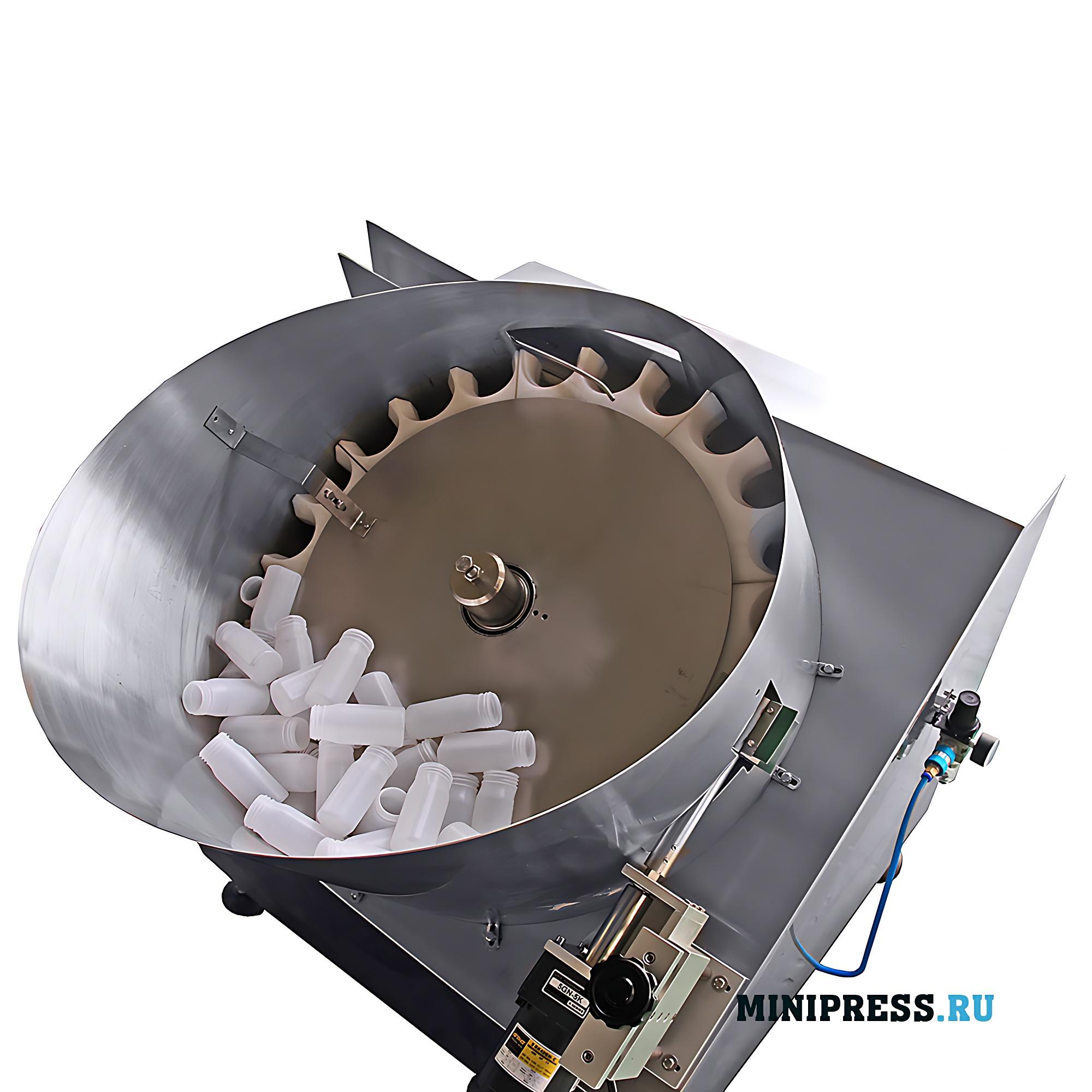 Автоматическое оборудование для ориентирования пластиковых флаконов