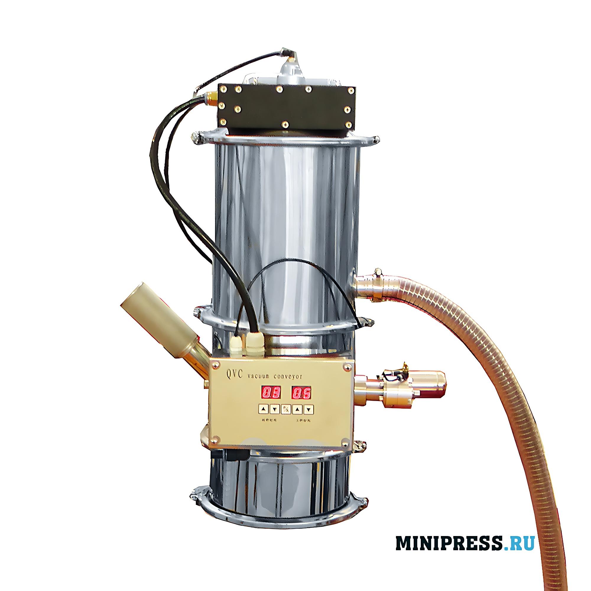 Оборудование для подачи и выгрузки порошков и сыпучих материалов