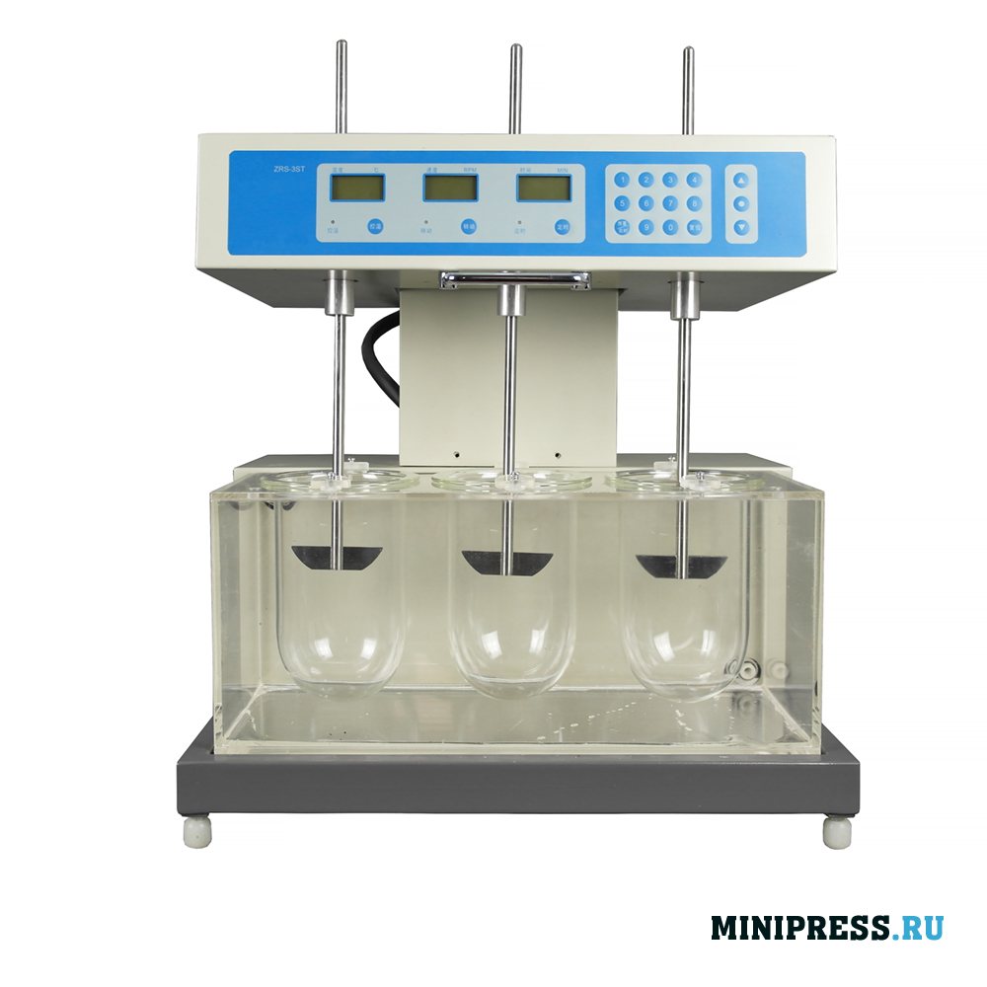 Анализатор растворения для измерения скорости и степени растворения таблеток и желатиновых капсул