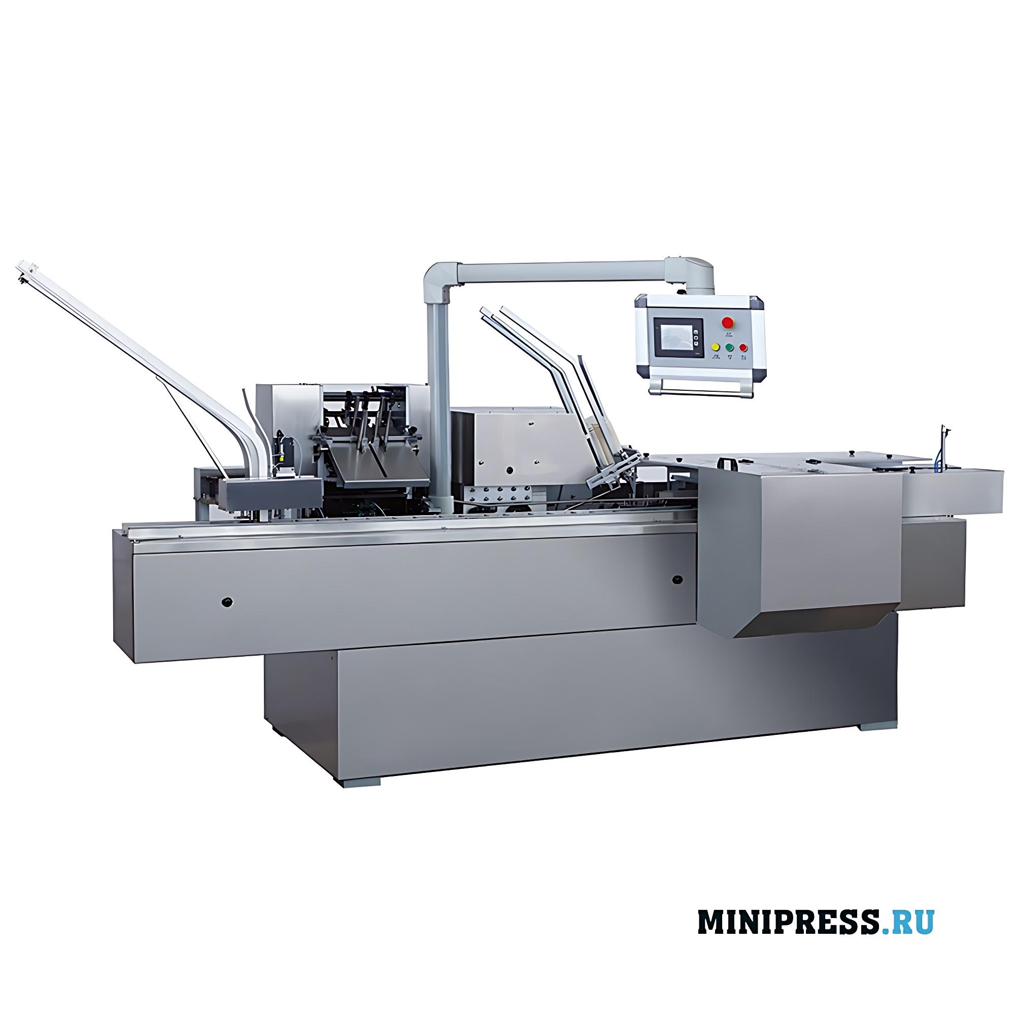Автоматическое картонажное оборудование