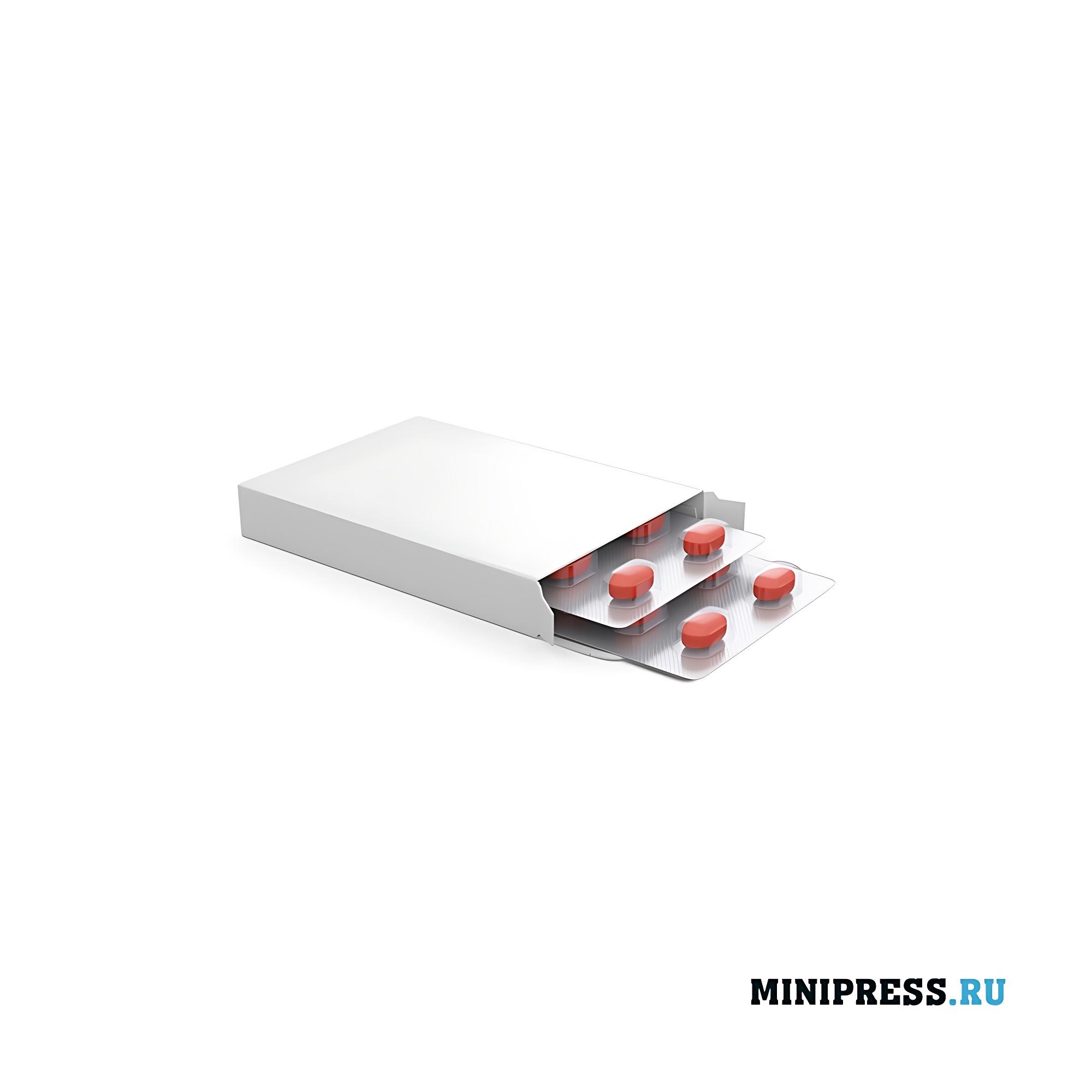 Блистерная упаковка в картонной коробке