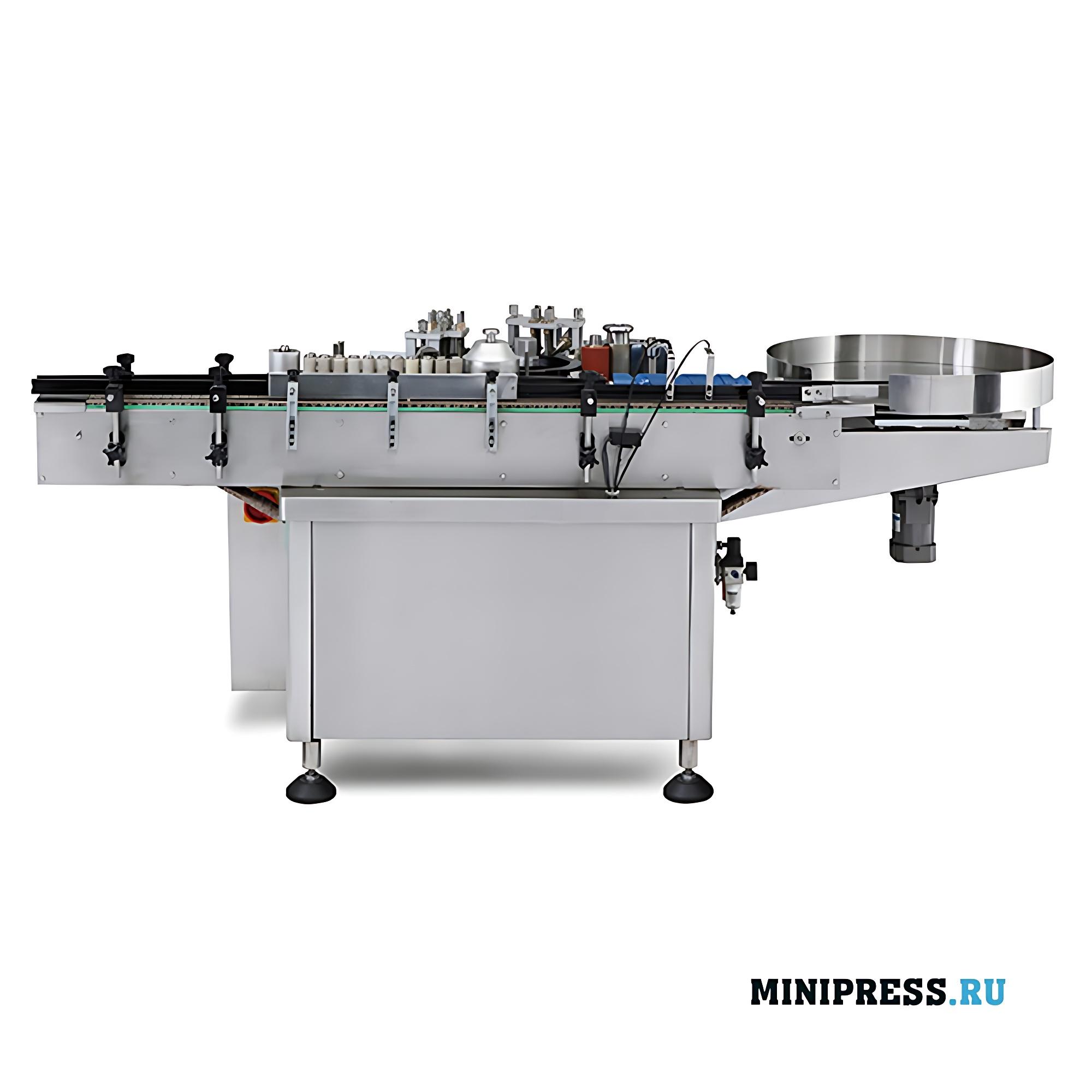 Автоматическое этикетировочное оборудование для этикеток на клеевой основе