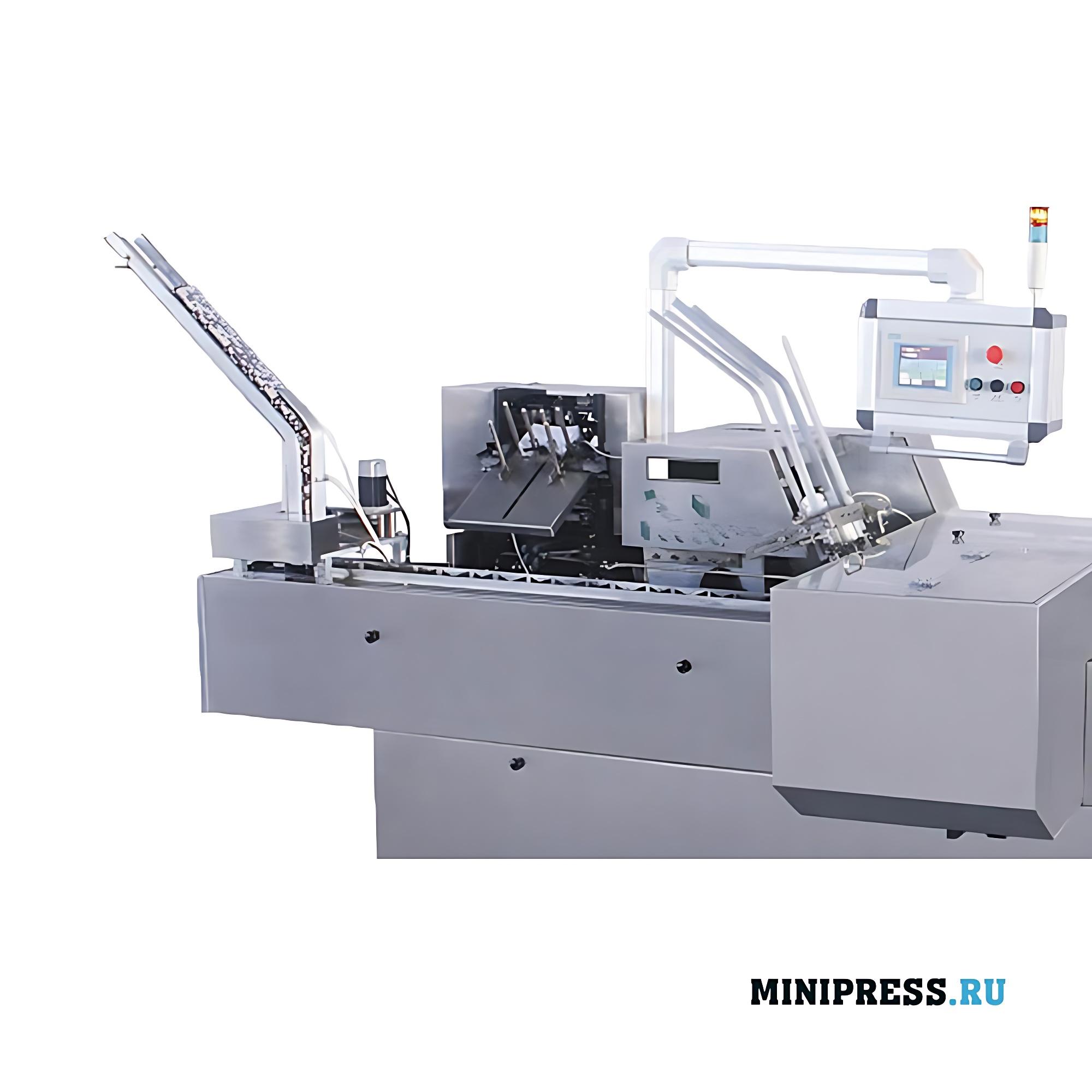 Автоматическое клеевое картонажное оборудование
