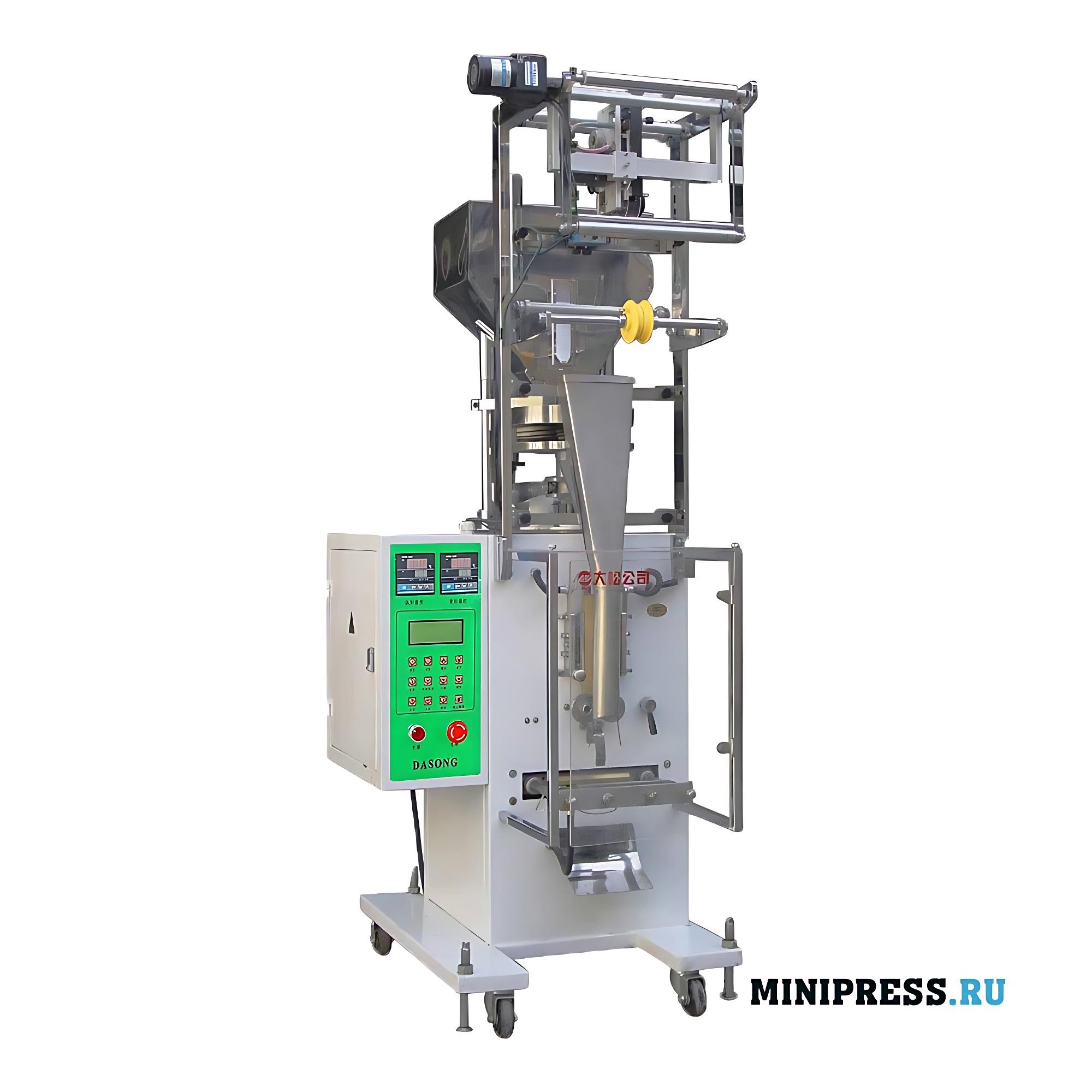 Автоматическое оборудование для фасовки порошка