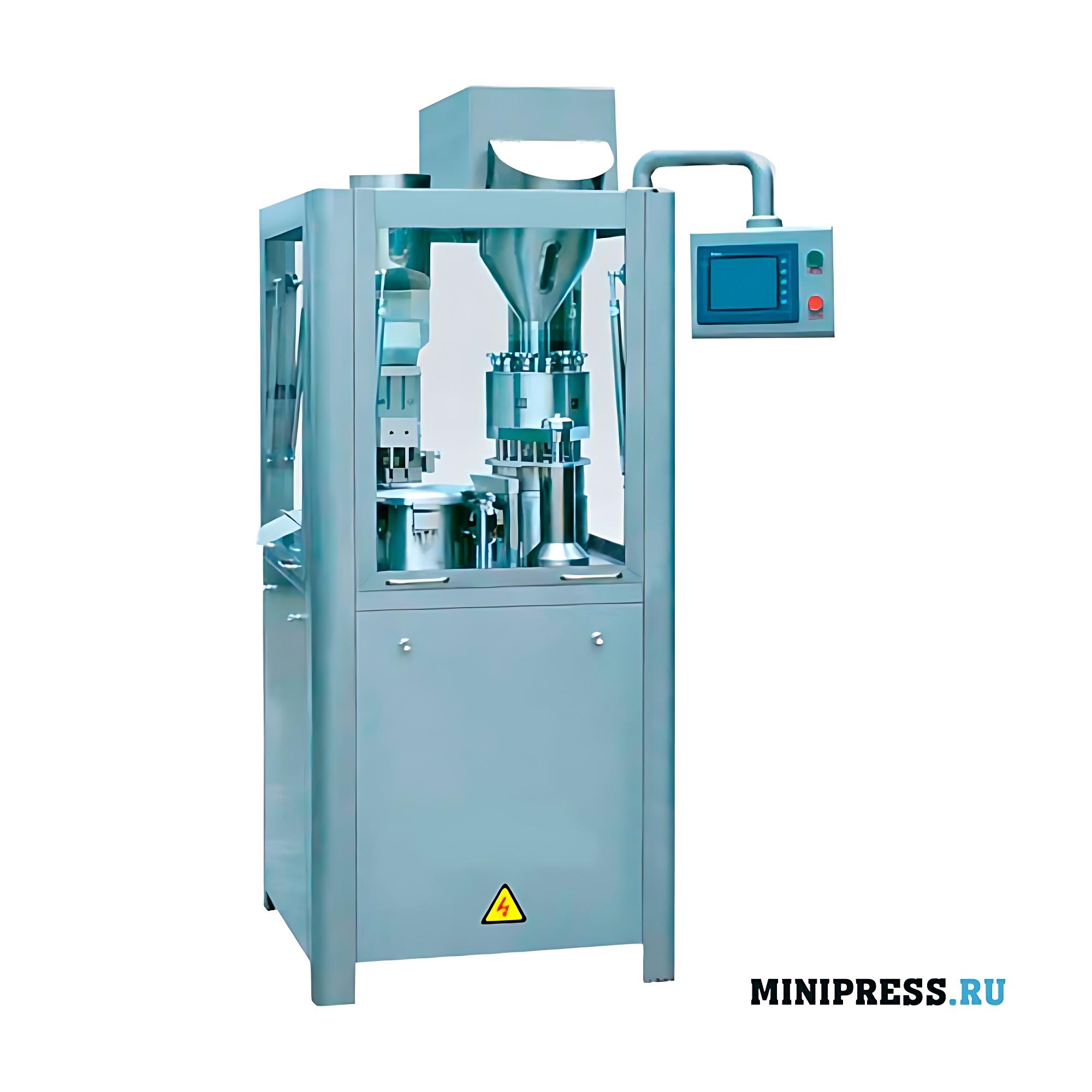 Автоматическое оборудование для наполнения капсул порошком