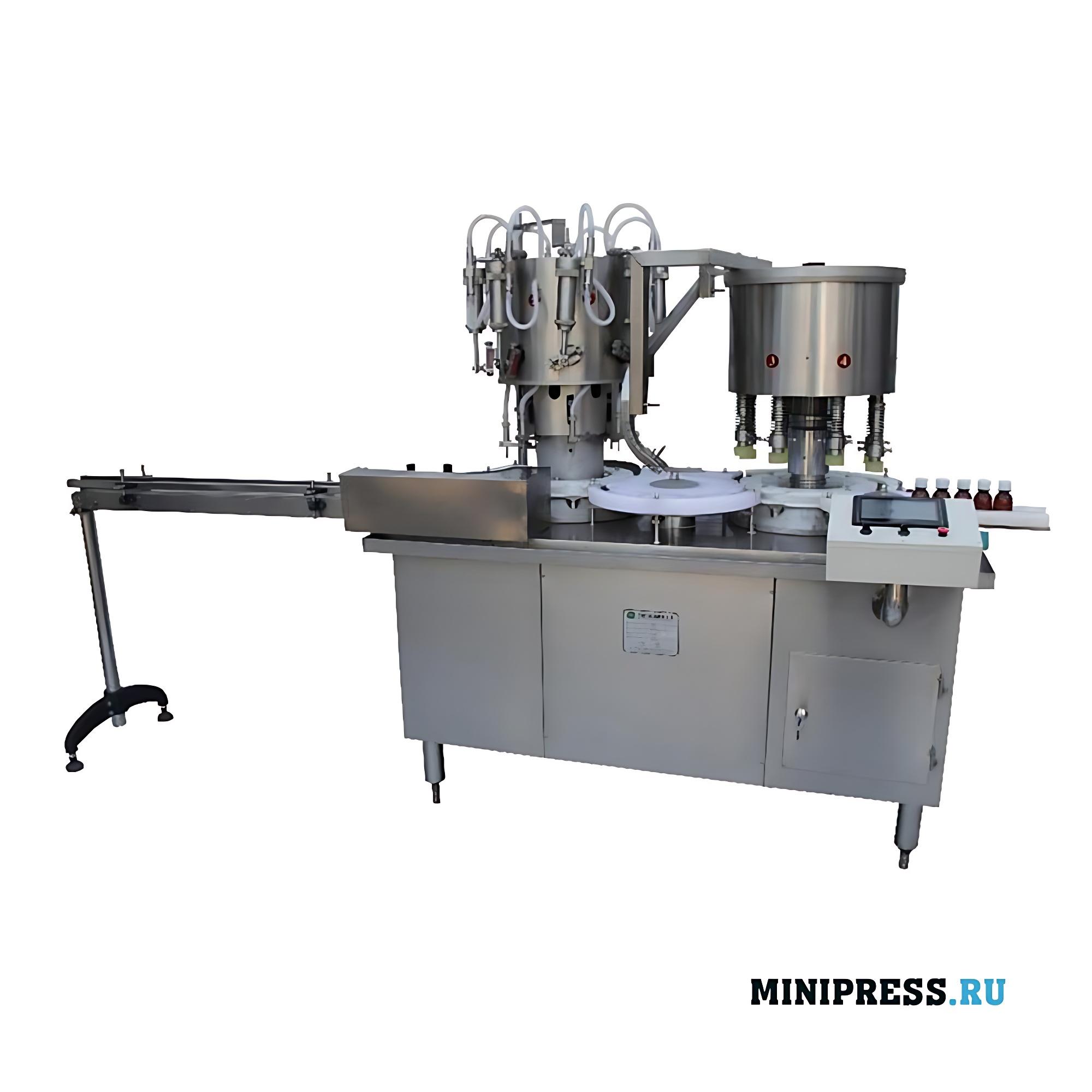 Автоматическое оборудование для розлива и укупорки