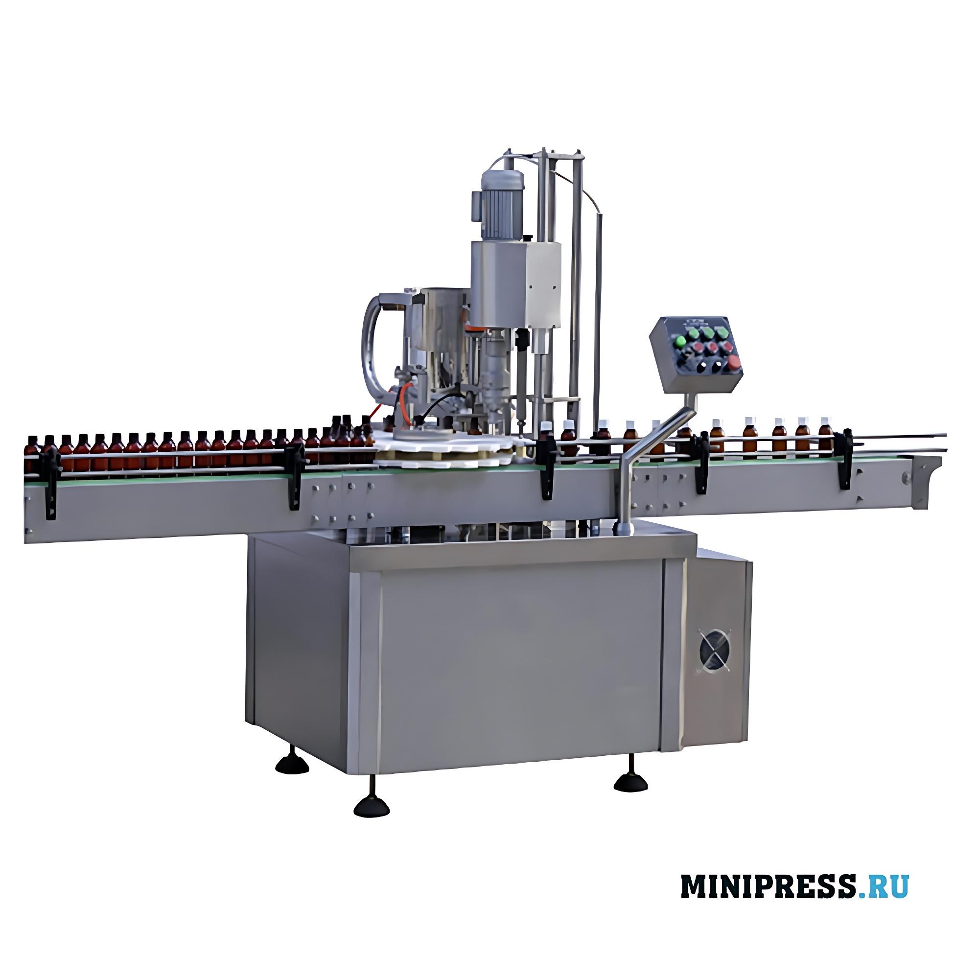 Автоматическое оборудование для розлива с дозатором