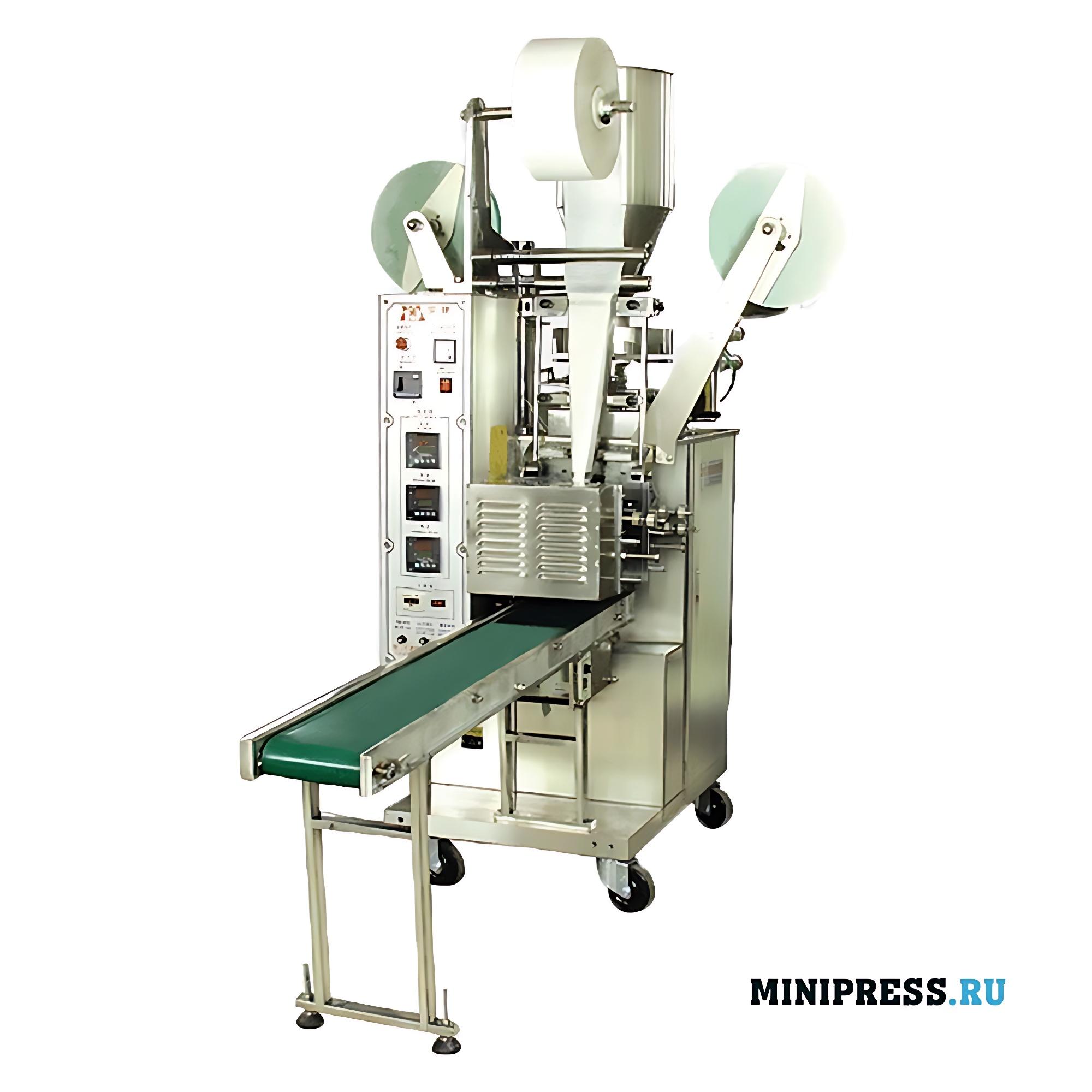 Автоматическое оборудование для упаковки чайных пакетиков с ярлыком