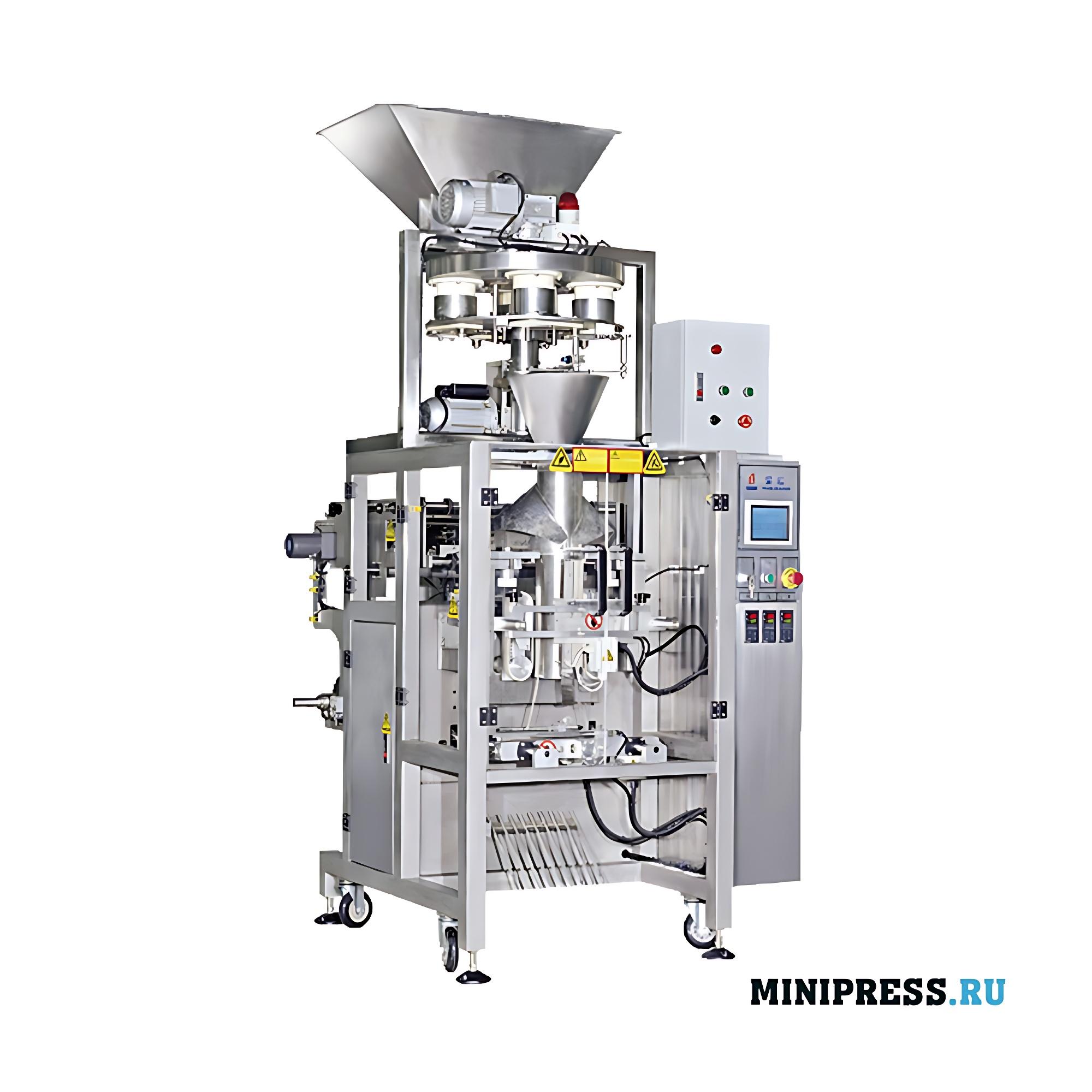 Автоматическое оборудование для упаковки гранул с двойным дозатором