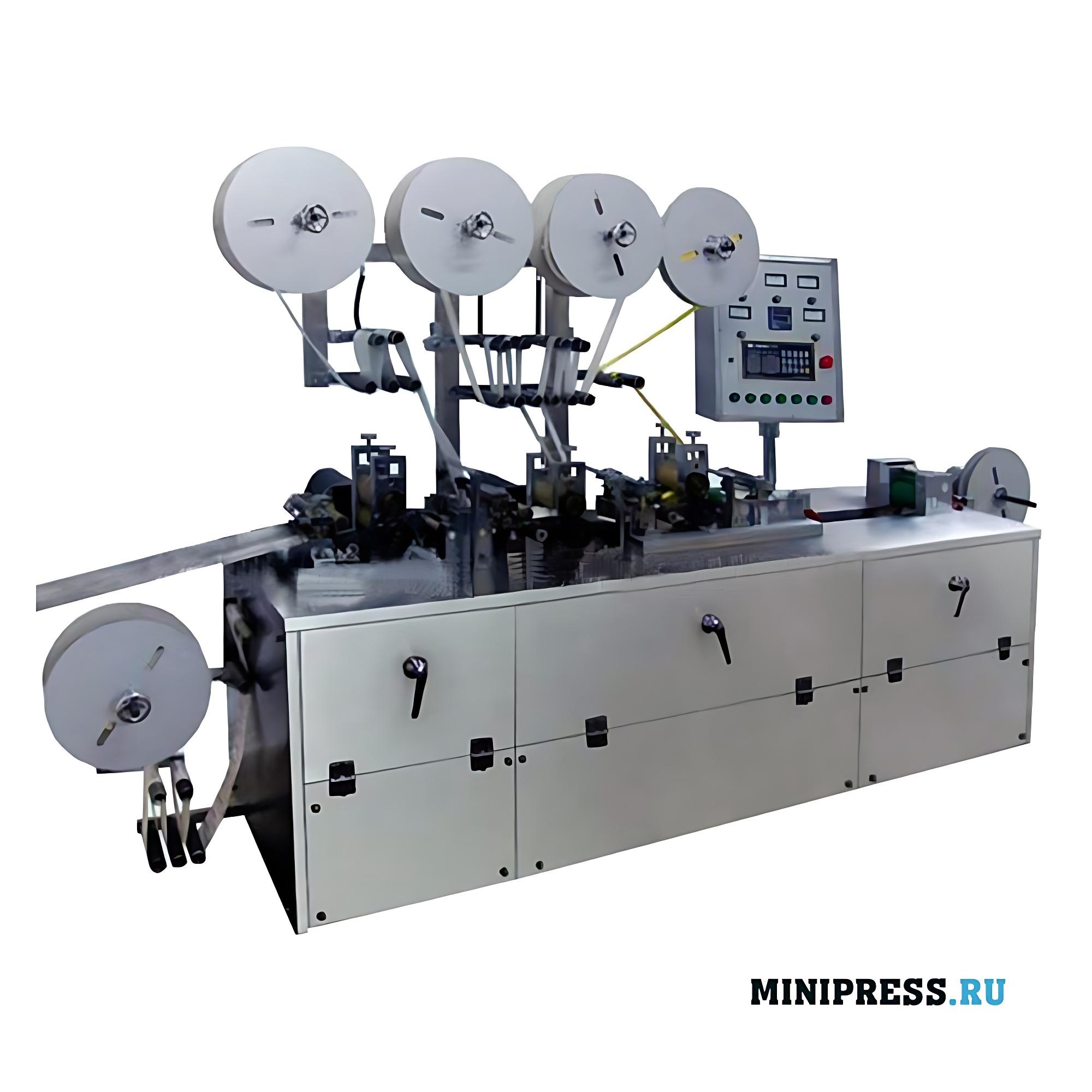 Автоматическое оборудование для упаковки медицинских пластырей