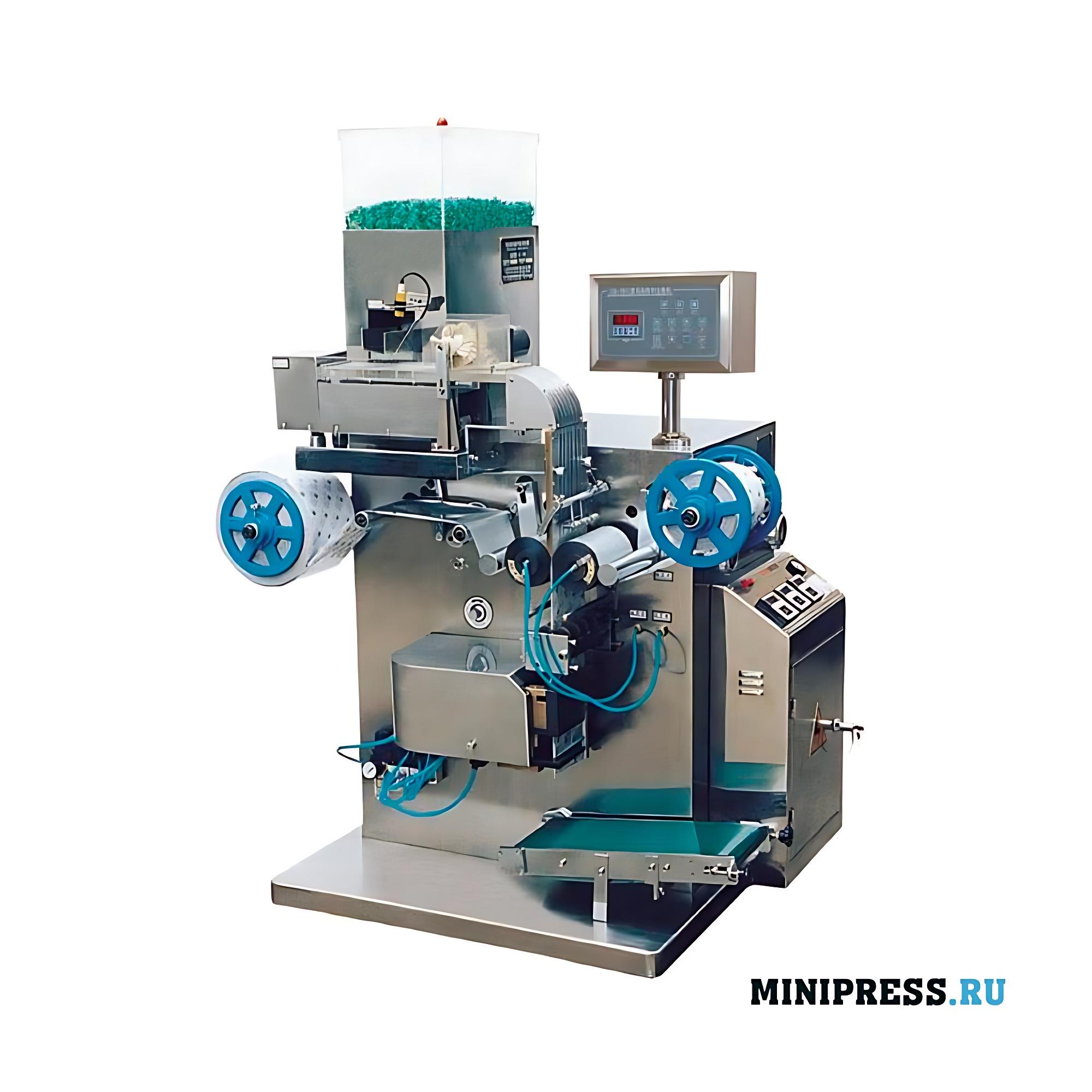 Автоматическое оборудование для упаковки таблеток в стрип