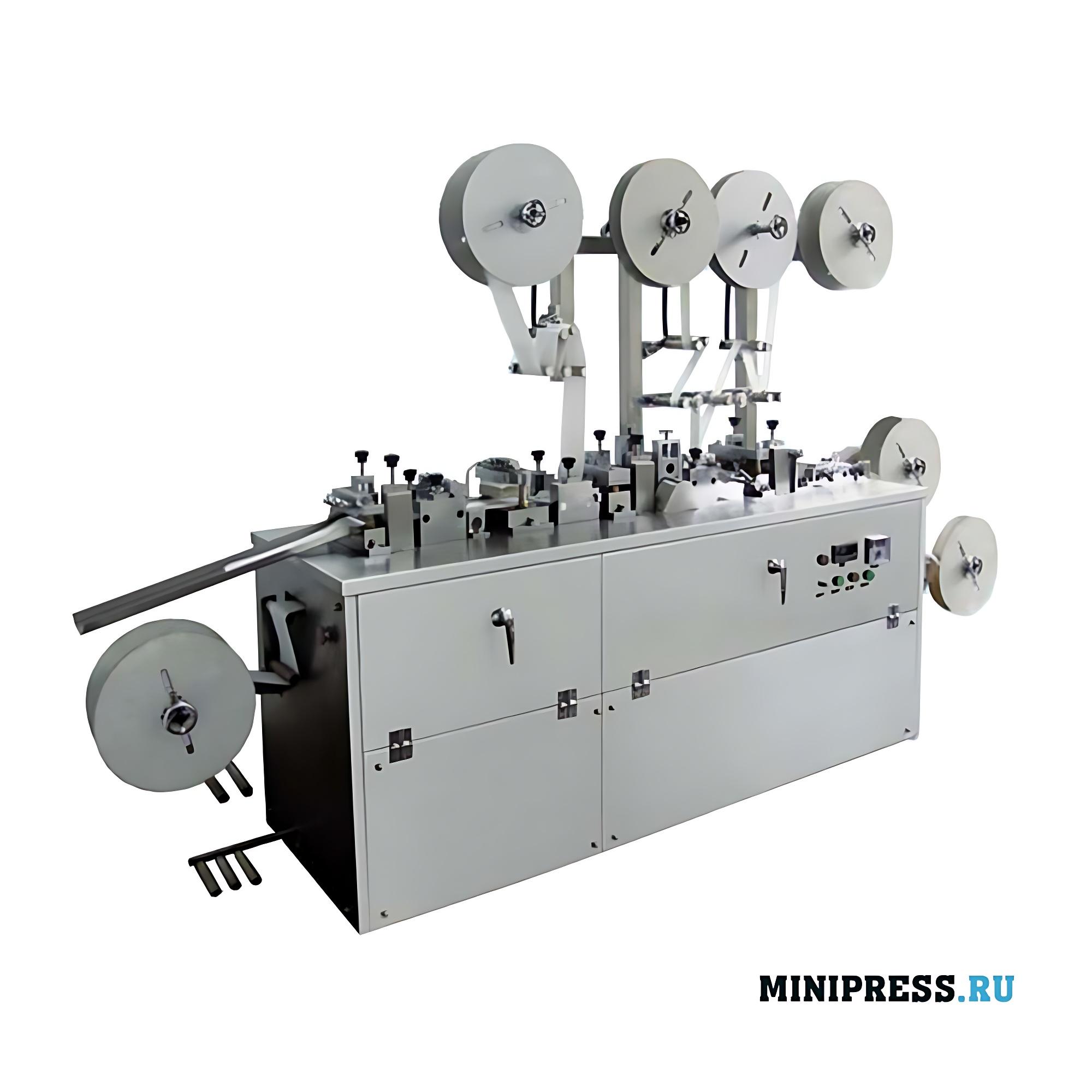 Автоматическое оборудование для вырубки медицинских пластырей с пропиткой